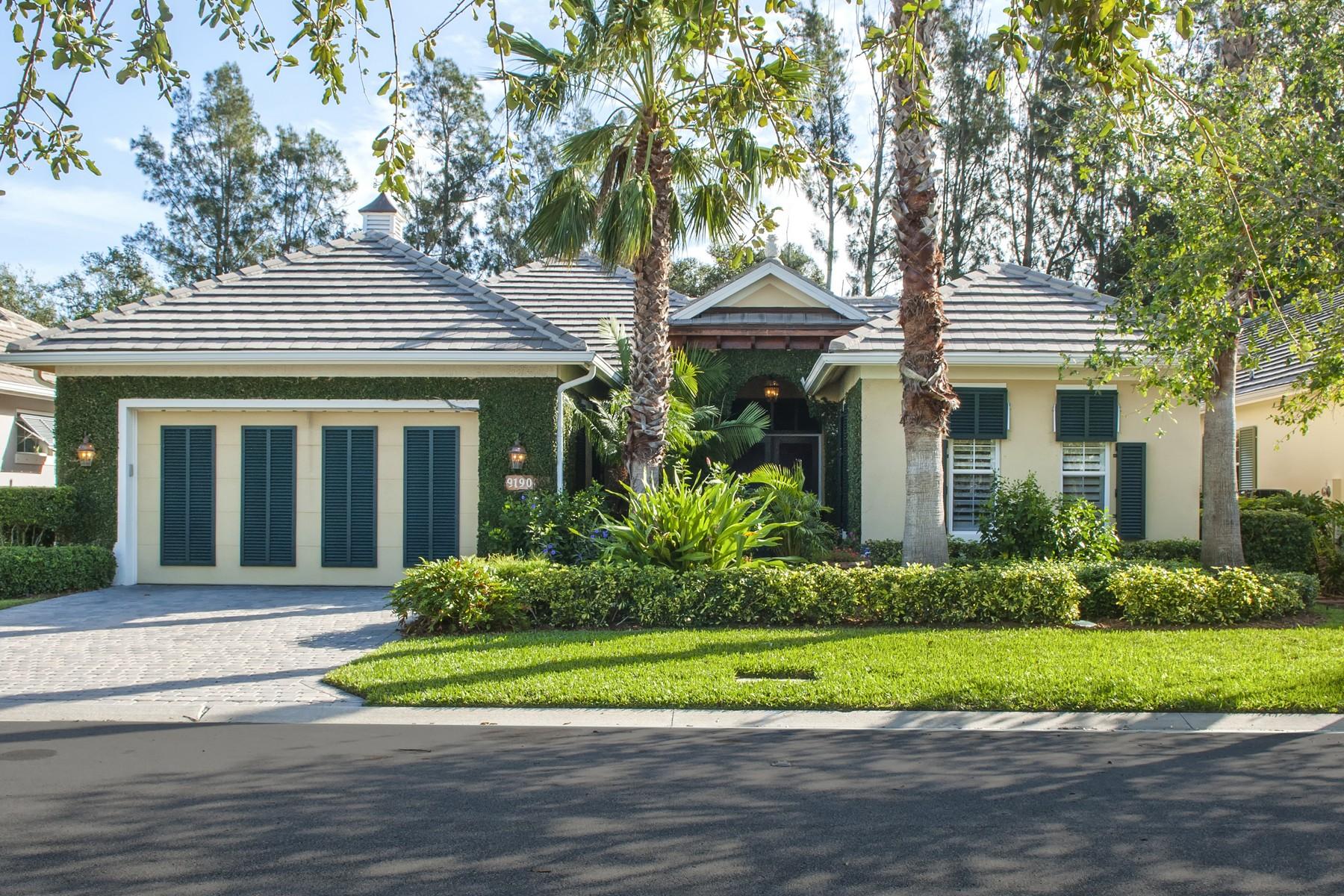 단독 가정 주택 용 매매 에 Azalea Courtyard Pool Home 9190 Spring Time Dr Vero Beach, 플로리다, 32963 미국