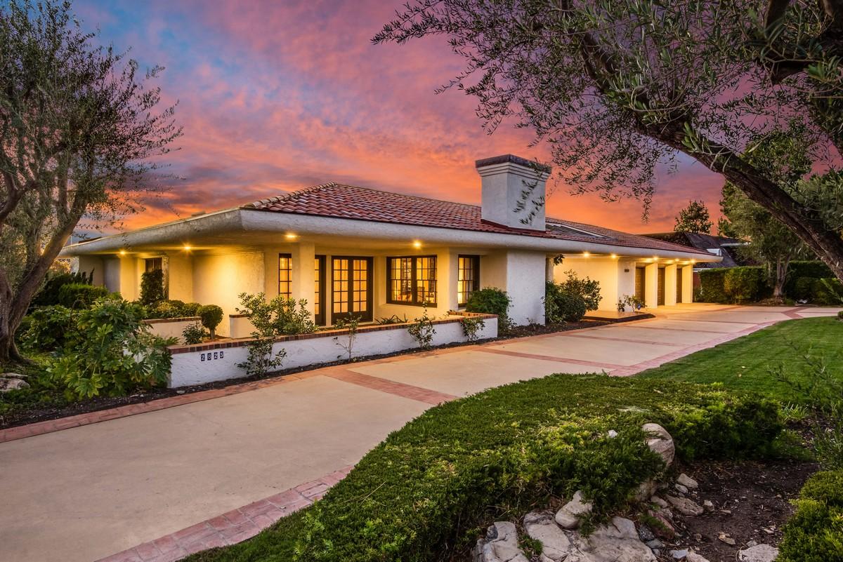 Частный односемейный дом для того Продажа на 2825 Paseo Del Mar Palos Verdes Estates, Калифорния, 90274 Соединенные Штаты