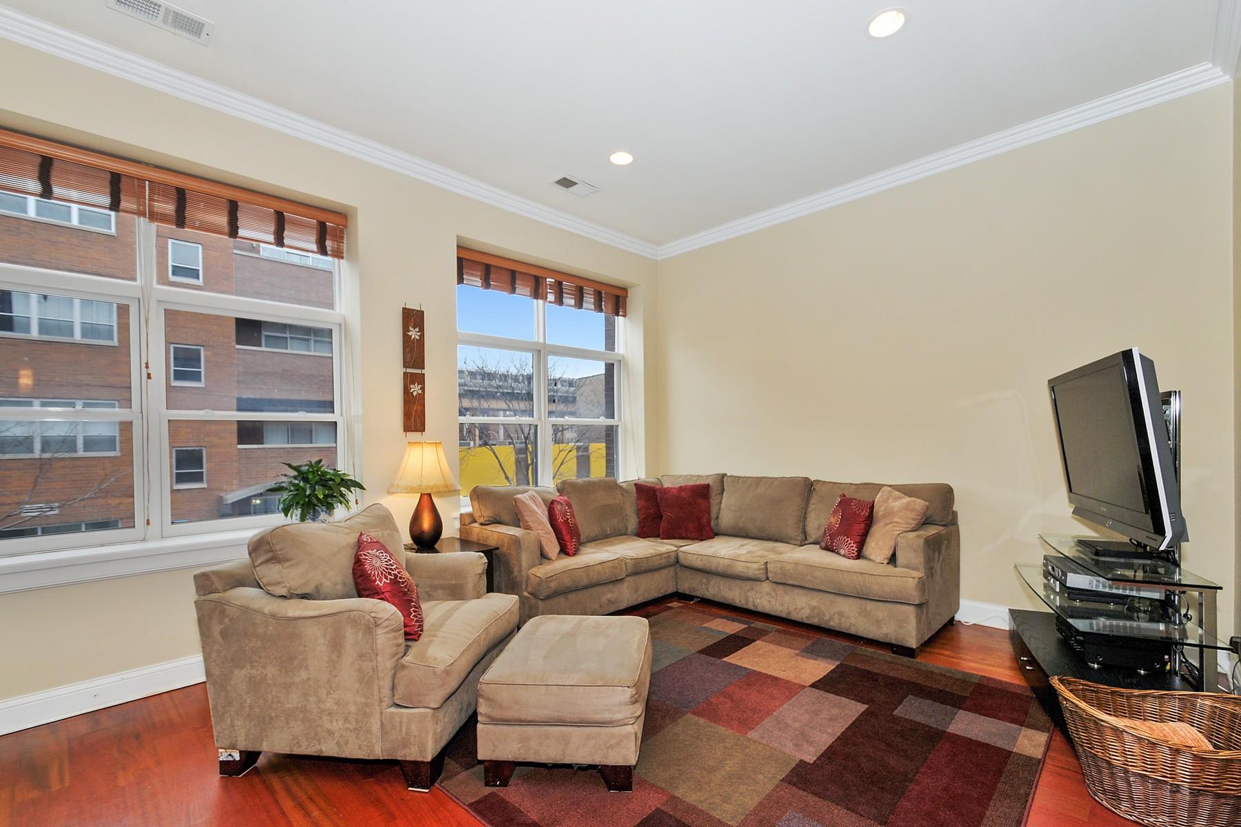 Condominium for Sale at Exceptional Open Floor Plan 1815 N Milwaukee Unit 201 Logan Square, Chicago, Illinois 60647 United States