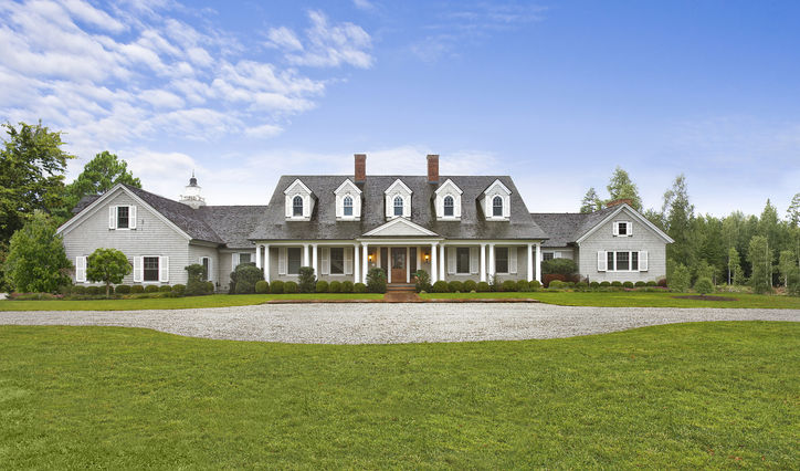 Single Family Home for Sale at Magnificent Hamptons Country Manor 24 Basket Neck Lane Remsenburg, New York, 11960 United States