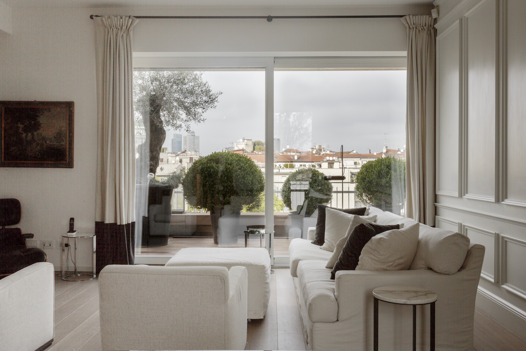 Apartment for Sale at Splendid penthouse with breathtaking view of the city Via Rossini Milano, Milan 20122 Italy