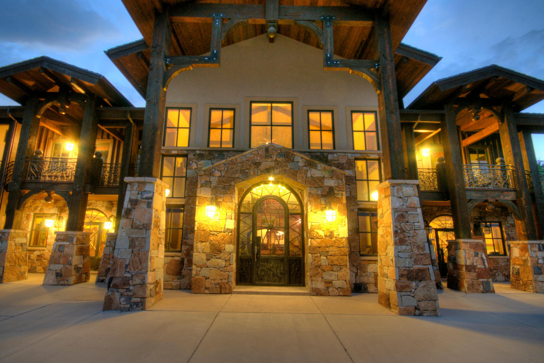 Single Family Home for Sale at Spectacular Home with Expansive Views 5320 Cove Hollow Ln Park City, Utah 84098 United States