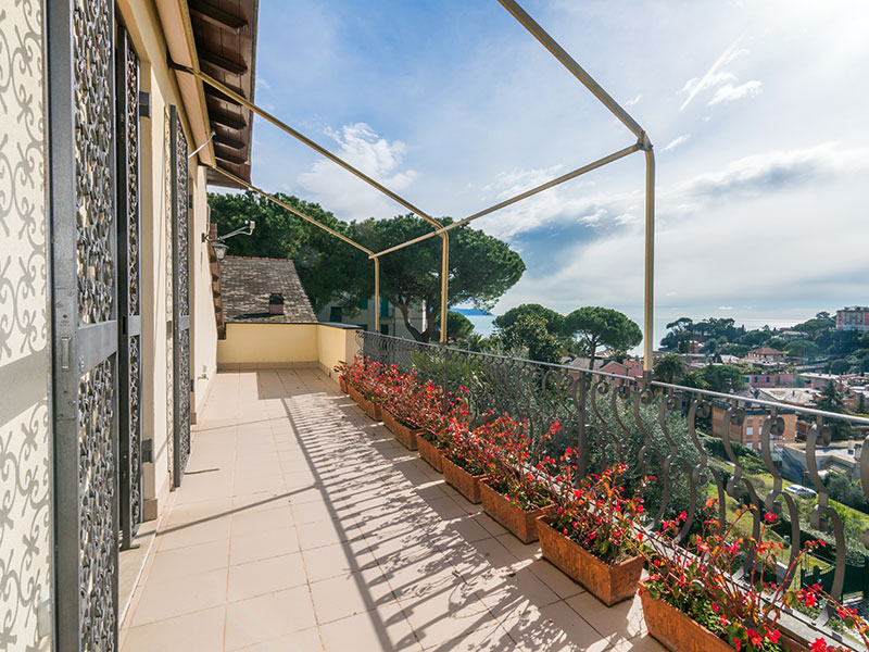 Einfamilienhaus für Verkauf beim Nice villa with sea view and pool Via Conca del Sole Santa Margherita Ligure, Genoa 16035 Italien