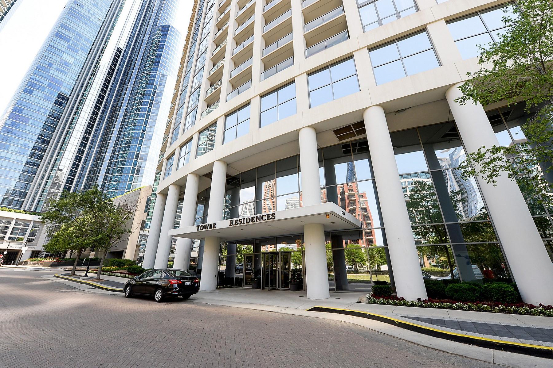 콘도미니엄 용 매매 에 Museum Park Condo with Spectacular Views 1235 S Prairie Avenue Unit 3509 Near South Side, Chicago, 일리노이즈, 60605 미국