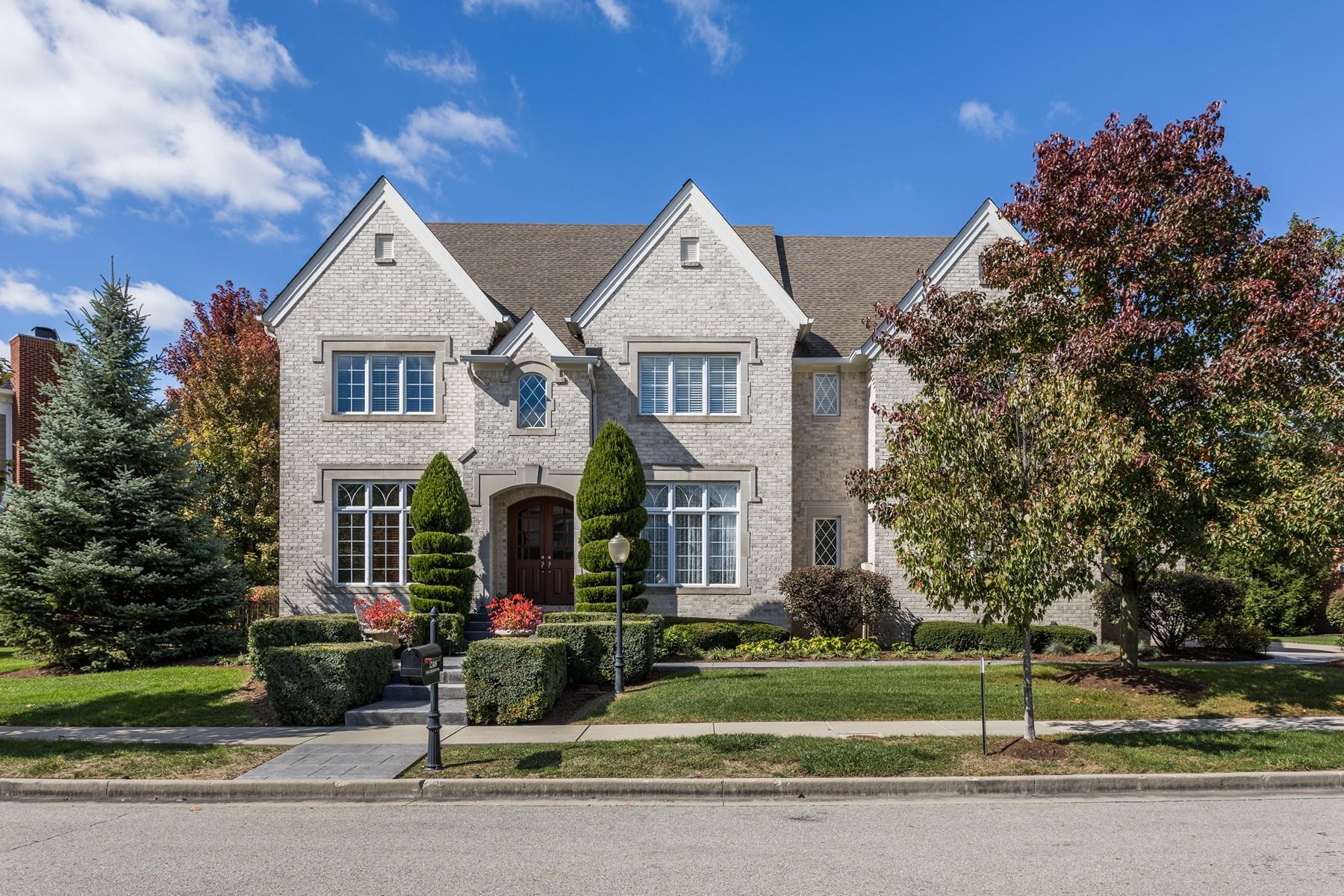 独户住宅 为 销售 在 Exquisitely Designed High End Details 12416 Bellingrath Street 卡梅尔, 印第安纳州, 46032 美国
