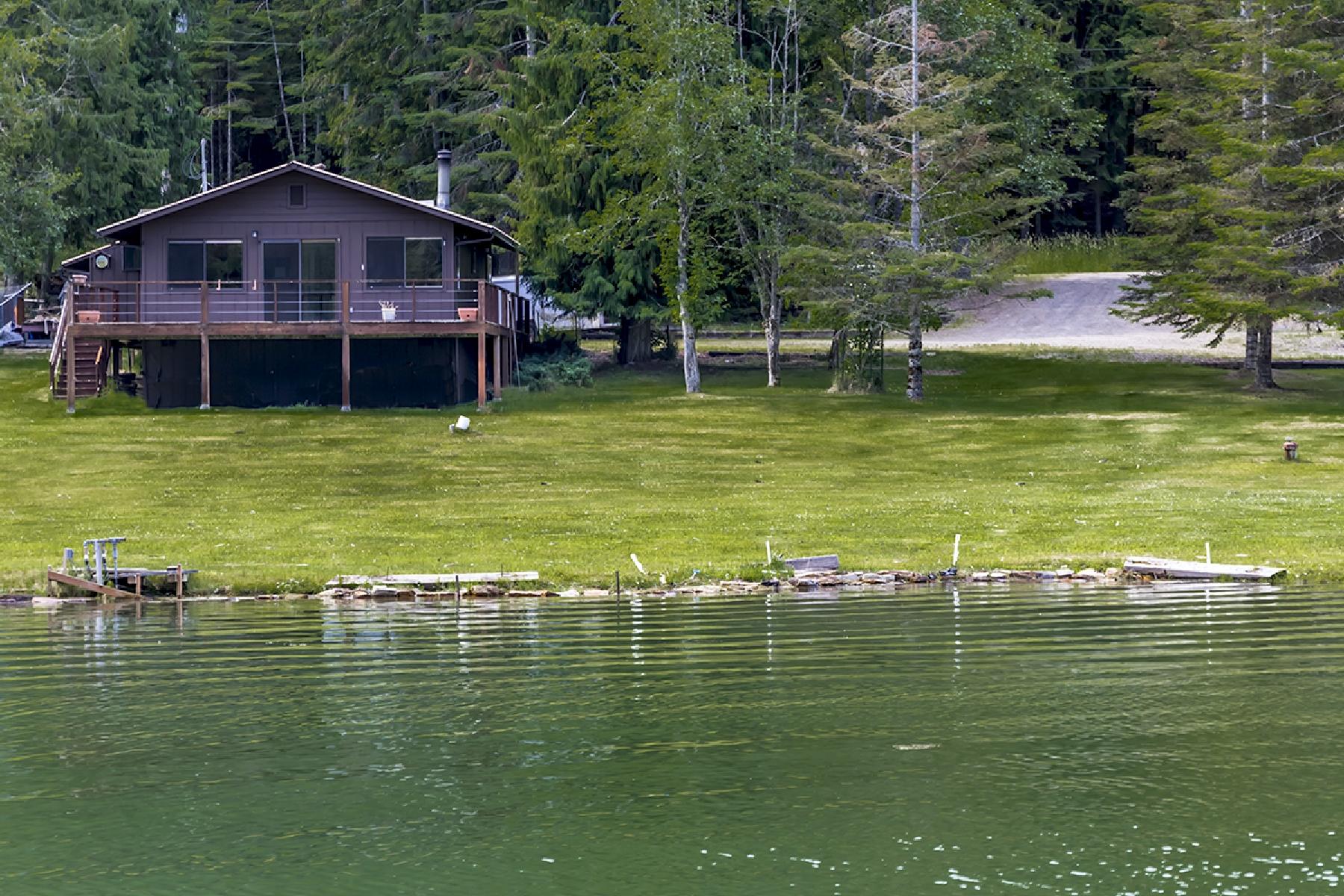Maison unifamiliale pour l Vente à Hope Peninsula waterfront home with terms! 259 Cedar Lane Hope, Idaho 83836 États-Unis