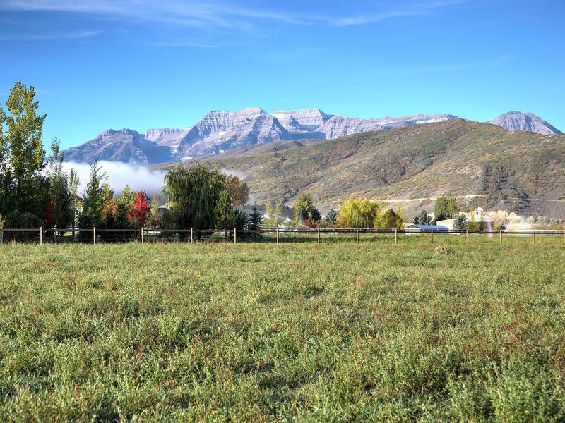 Terreno per Vendita alle ore 4.59 Acre Winterton Farm parcel backs up to Provo River Corridor 2944 W Winterton Rd Lot 5 Heber City, Utah 84032 Stati Uniti