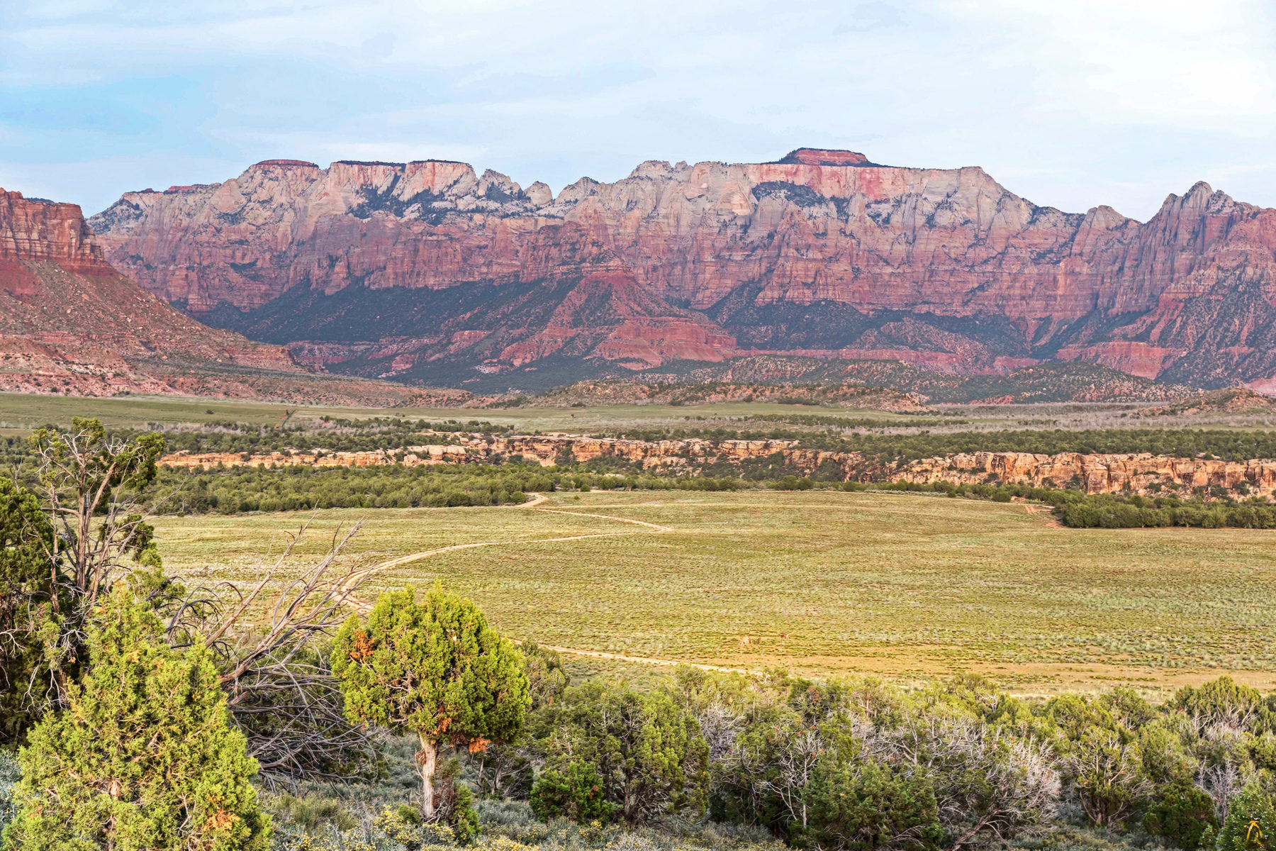 Land for Sale at 100 Acre Retreat in Washington County next to Zion National Park 100 Acres Dalton Wash Rd Virgin, Utah 84779 United States