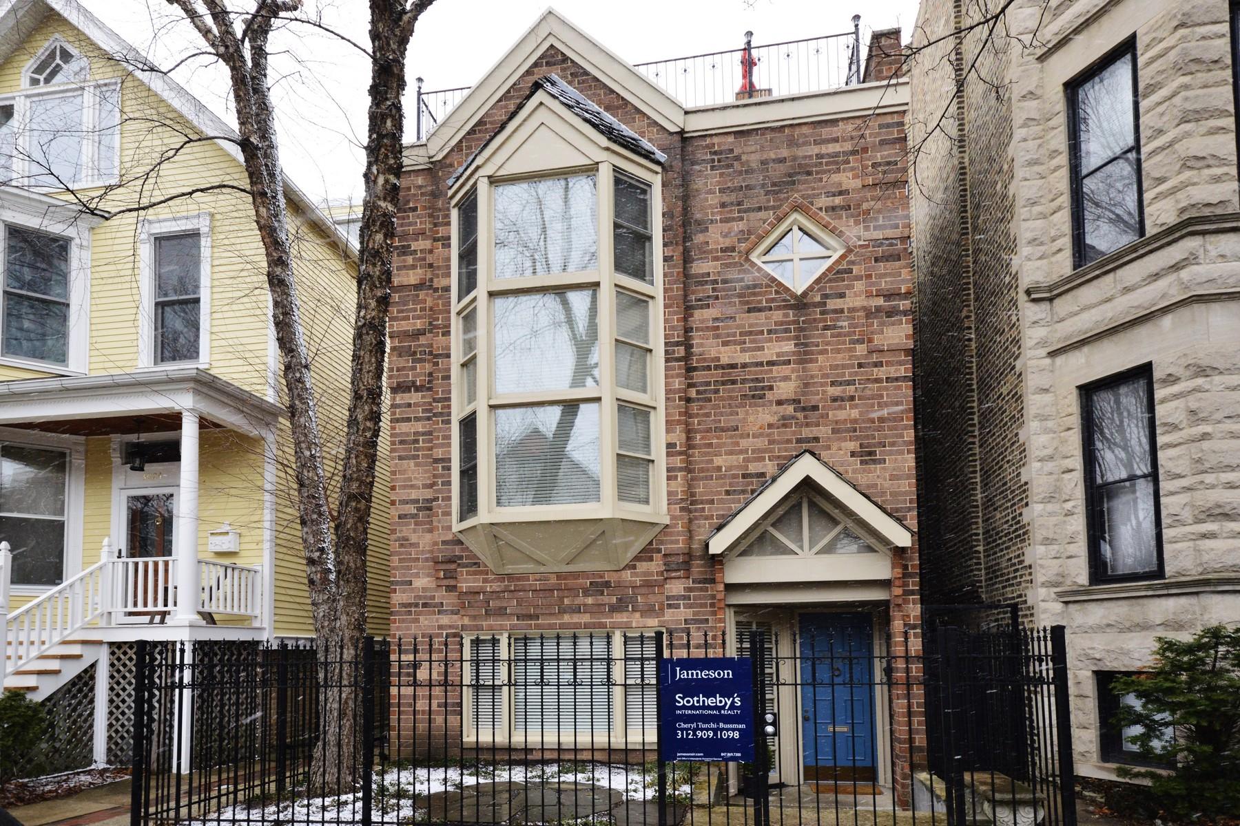 Adosado por un Venta en Incredible Three Bed Townhome 3026 N Kenmore Avenue Unit 1 Lakeview, Chicago, Illinois, 60657 Estados Unidos