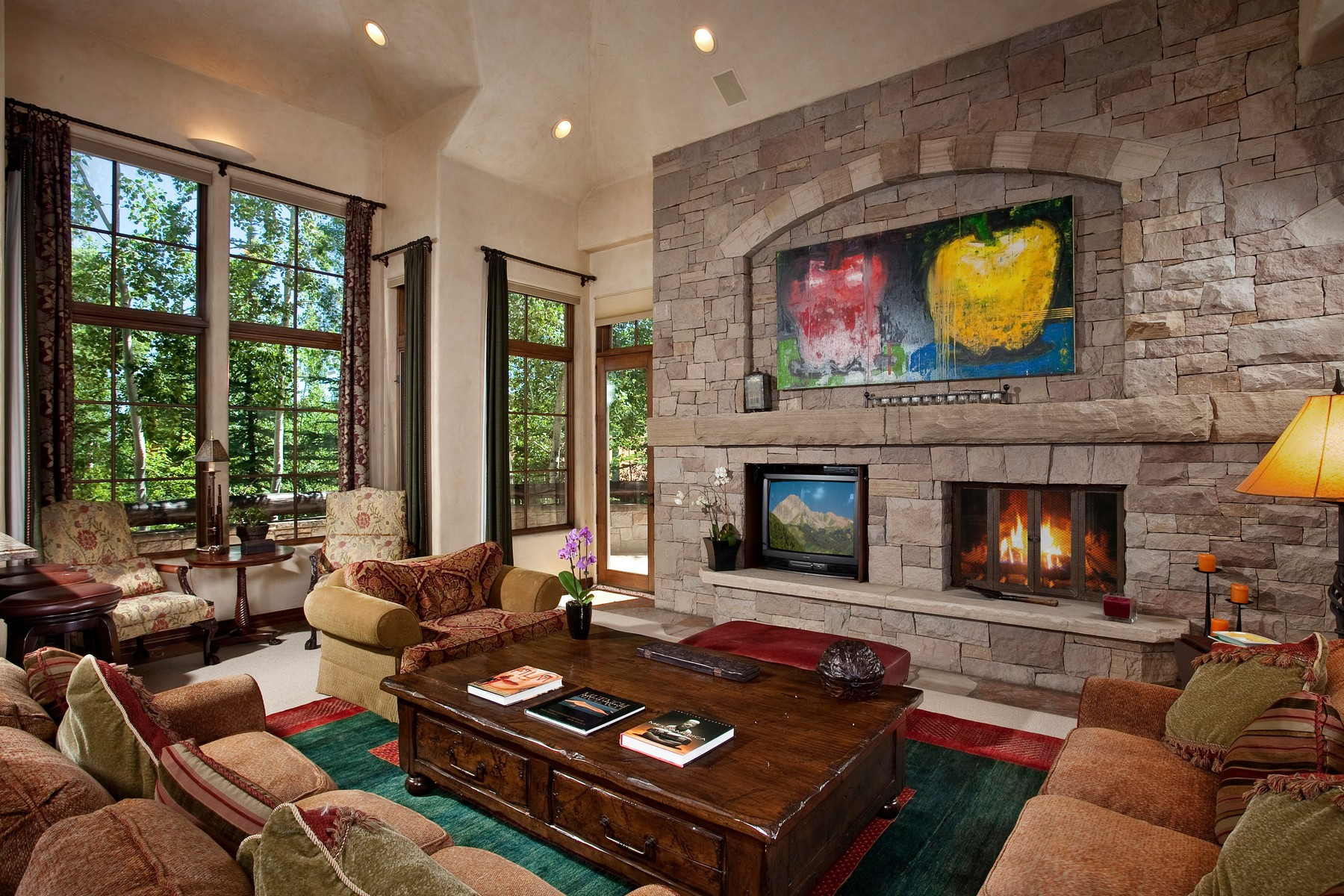 Single Family Home for Sale at Ski-in / Ski-out Mountain Home 27 Timber Ridge Snowmass Village, Colorado, 81615 United States