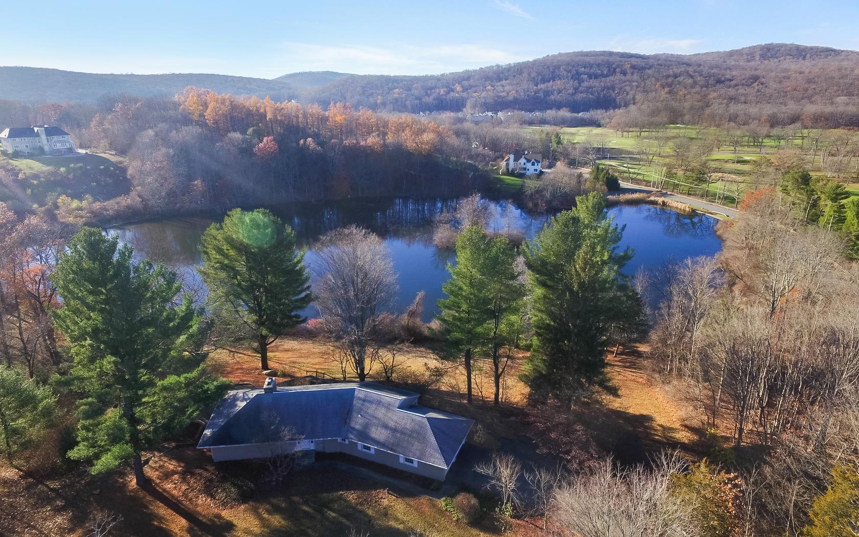 Single Family Home for Sale at Pondside 607 Eagle Valley Road Tuxedo Park, New York 10987 United States