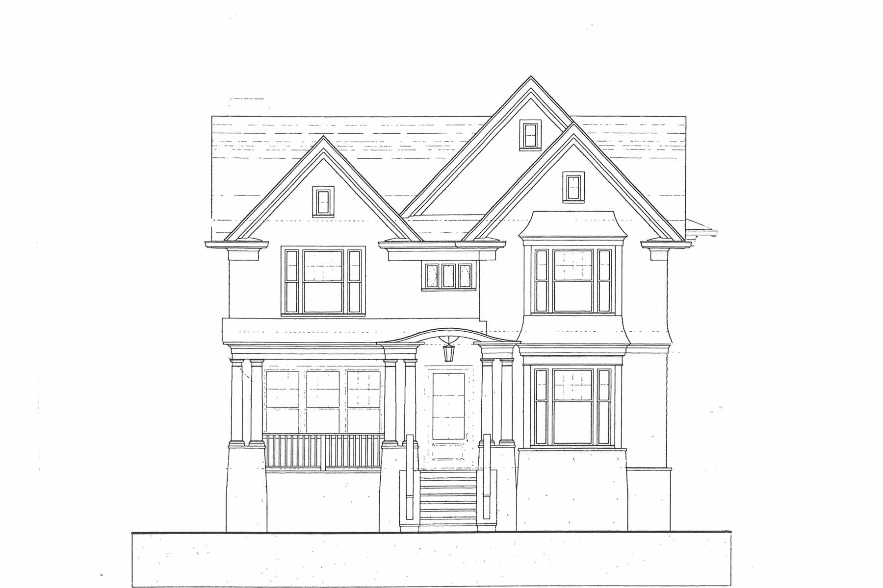 Single Family Home for Sale at New construction by JackBilt Homes in the Garden Hills area of Buckhead! 331 Peachtree Avenue NE Atlanta, Georgia, 30305 United States