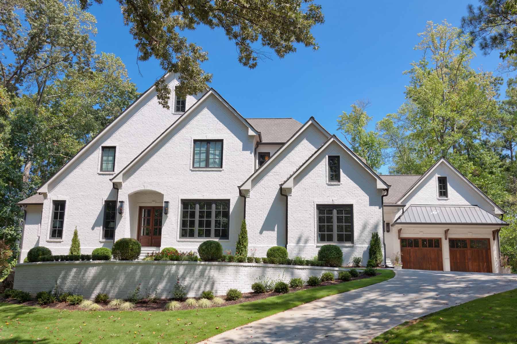 Single Family Home for Sale at New Custom Build in Sandy Springs 6605 Cherry Tree Lane Atlanta, Georgia 30328 United States