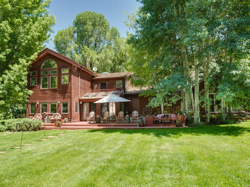 独户住宅 为 销售 在 Woody Creek 2122 Lower River Road Woody Creek, 科罗拉多州 81656 美国