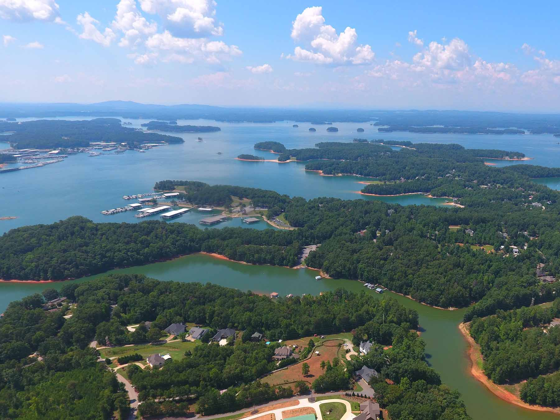 獨棟家庭住宅 為 出售 在 Magnificent Custom Home on Lake Lanier 5973 Blackberry Lane Buford, 喬治亞州, 30518 美國
