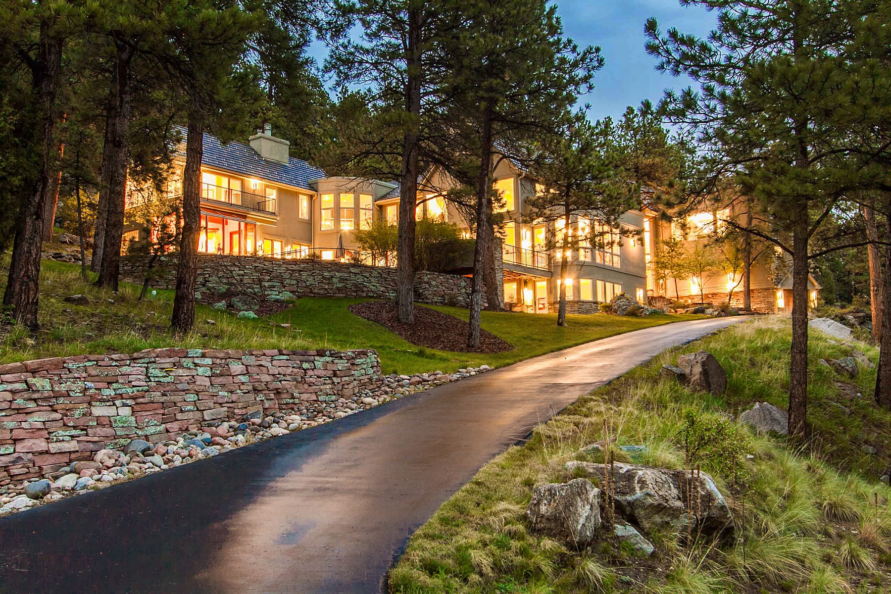 Single Family Home for Sale at Mountain Modern with Views 29627 Gleneden Lane Evergreen, Colorado 80439 United States