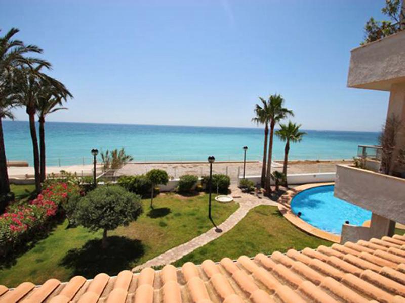 Apartamento por un Venta en First line Apartment in Cap Negret with Beach Acess Altea, Alicante Costa Blanca 03590 España