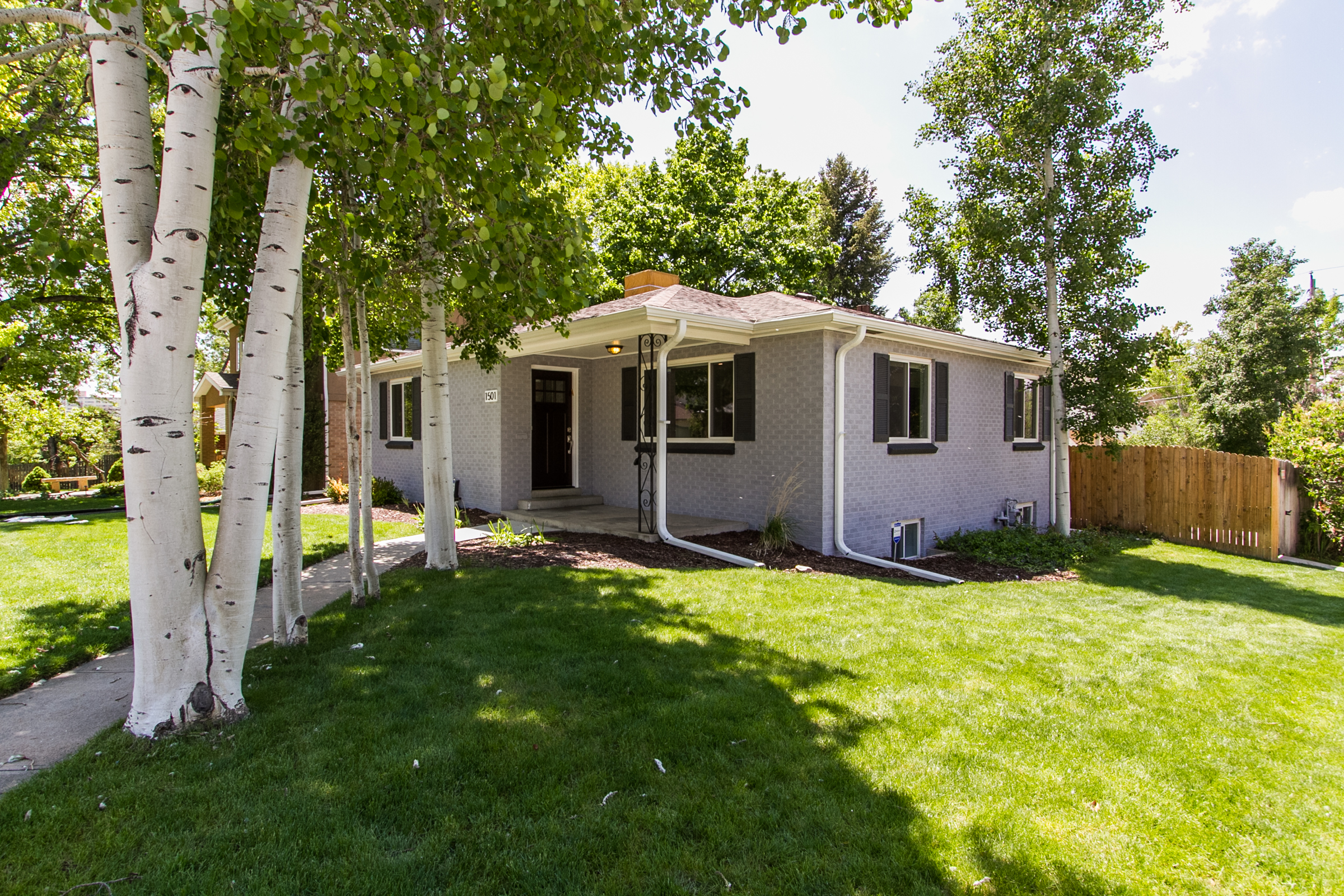 Single Family Home for Sale at Light and Bright, Beautifully updated Bungalow on a Large Corner Lot 1501 S. York Street Washington Park, Denver, Colorado 80210 United States