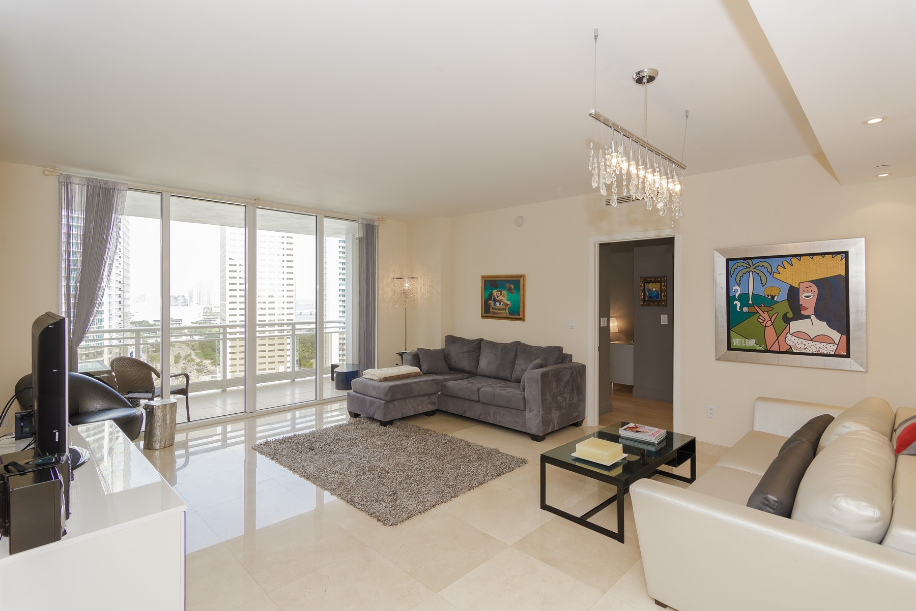 Condominium for Sale at Carbonell #2505 901 Brickell Key Blvd #2505 Miami, Florida 33131 United States