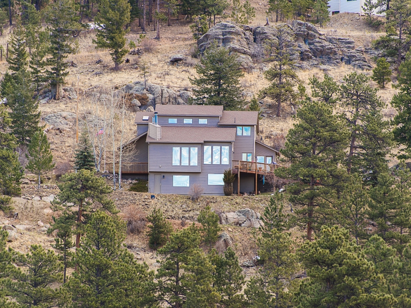 Single Family Home for Sale at Fabulous Private Getaway 6338 S. Skyline Drive Evergreen, Colorado 80439 United States