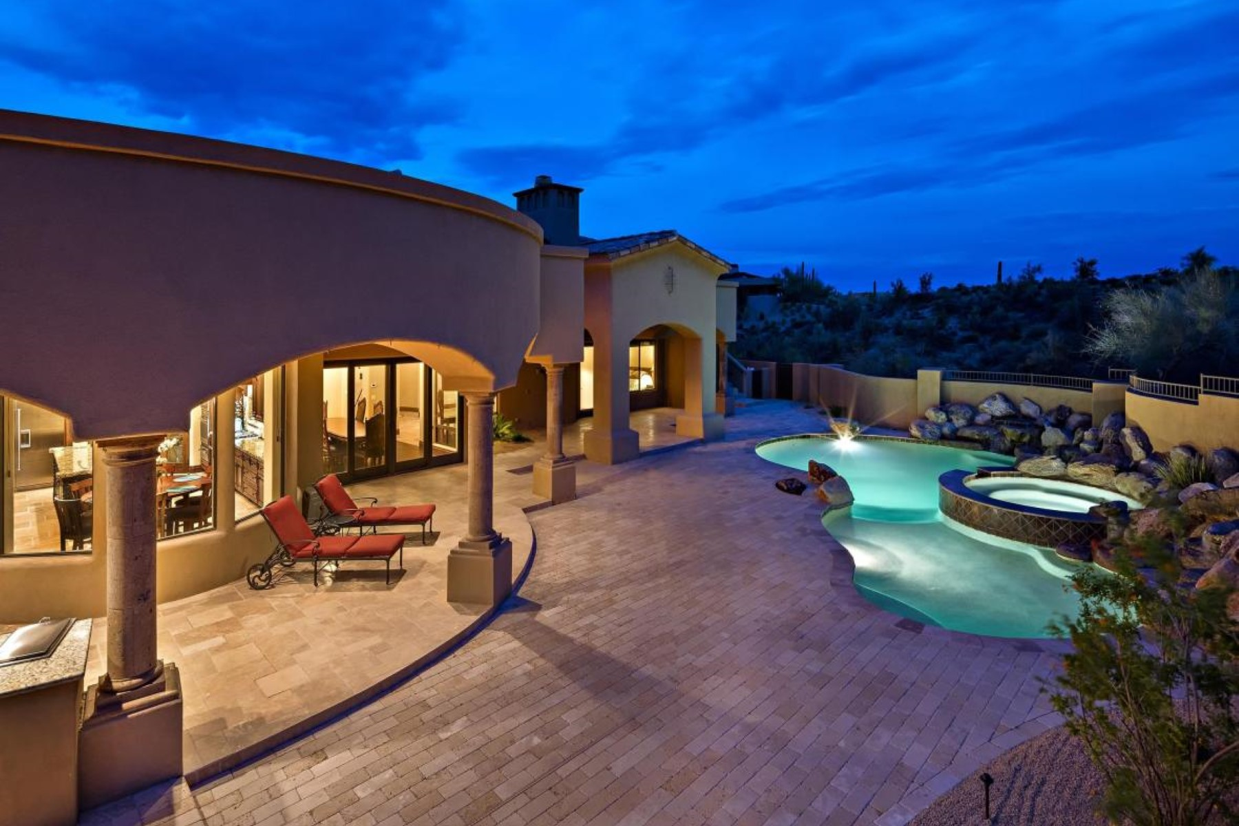 rentals property at Exceptional family home in Desert Mountain.