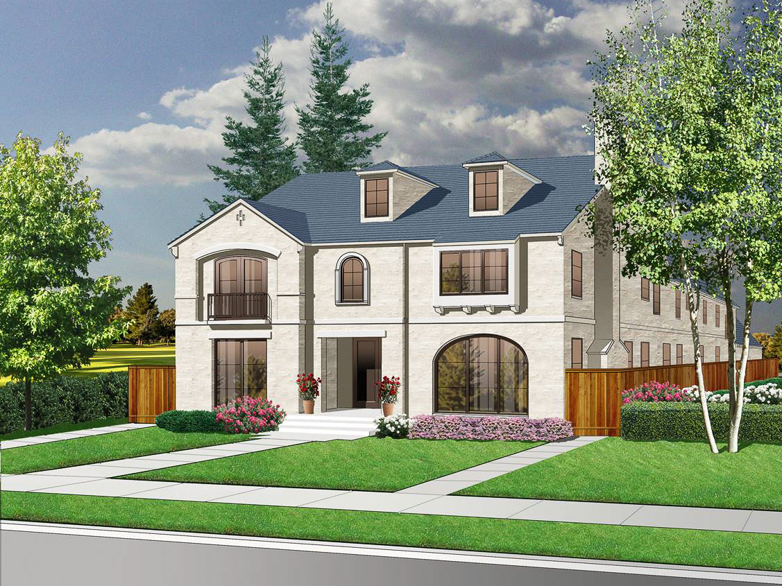 Maison unifamiliale pour l Vente à Beautiful New Construction in Highland Park 4304 Potomac Avenue Dallas, Texas 75205 États-Unis