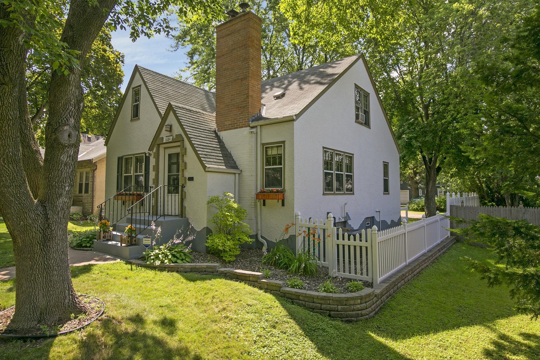 Maison unifamiliale pour l Vente à 1684 Maryland Avenue E Greater East Side, St. Paul, Minnesota 55106 États-Unis