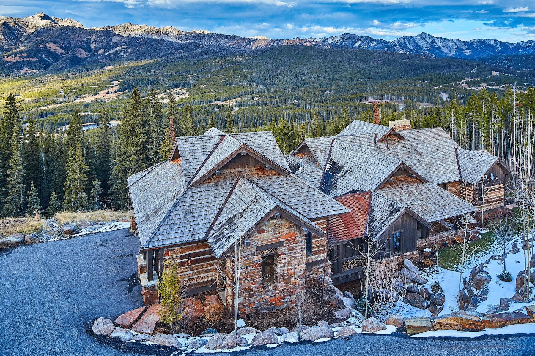 Single Family Home for Sale at Cowboy Heaven Ski Home 39 Renegade Road Big Sky, Montana 59716 United States