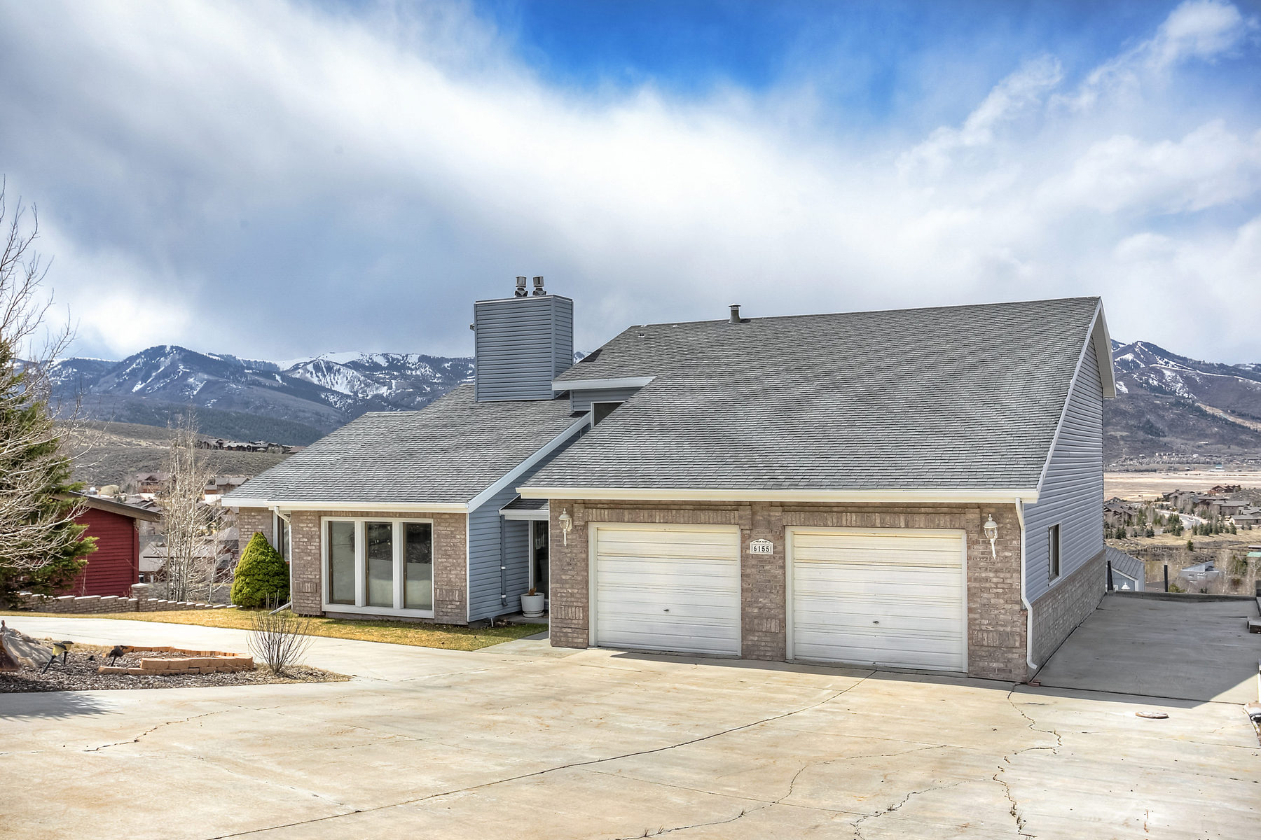 Single Family Home for Sale at Spacious Home, Sweeping Views 6155 N Mountain View Dr Lot #303-A Park City, Utah 84098 United States