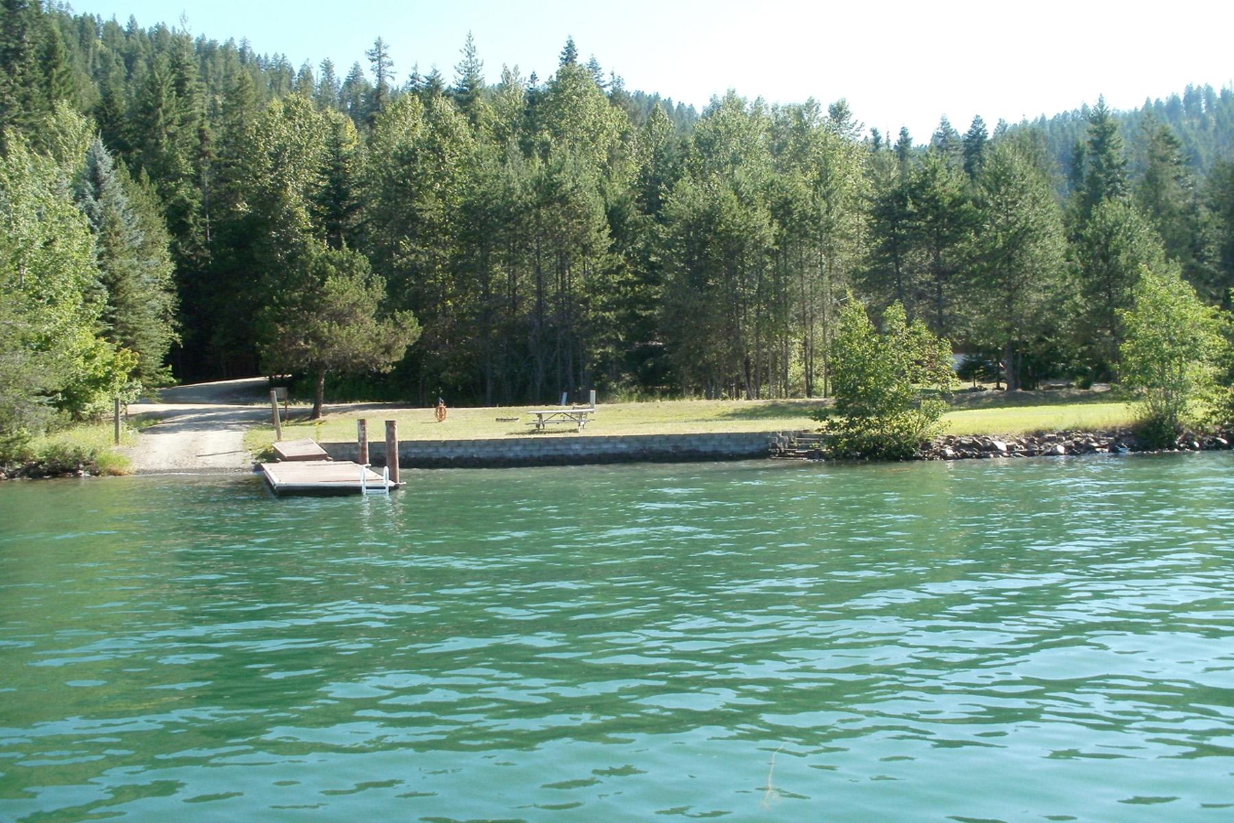 地產 為 出售 在 River Access Home Site Sunny Shores Loop #15 Sagle, 愛達荷州 83860 美國