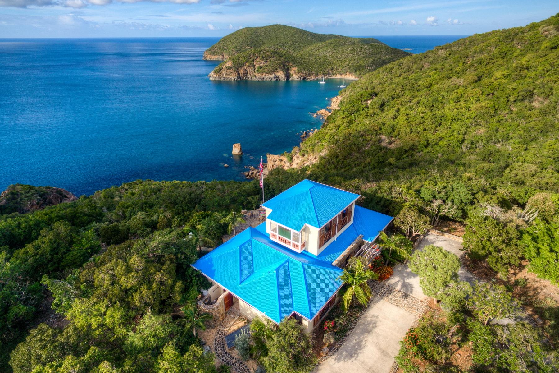 Einfamilienhaus für Verkauf beim Kokomo Indigo Plantation, Great Camanoe, Britische Jungferninseln