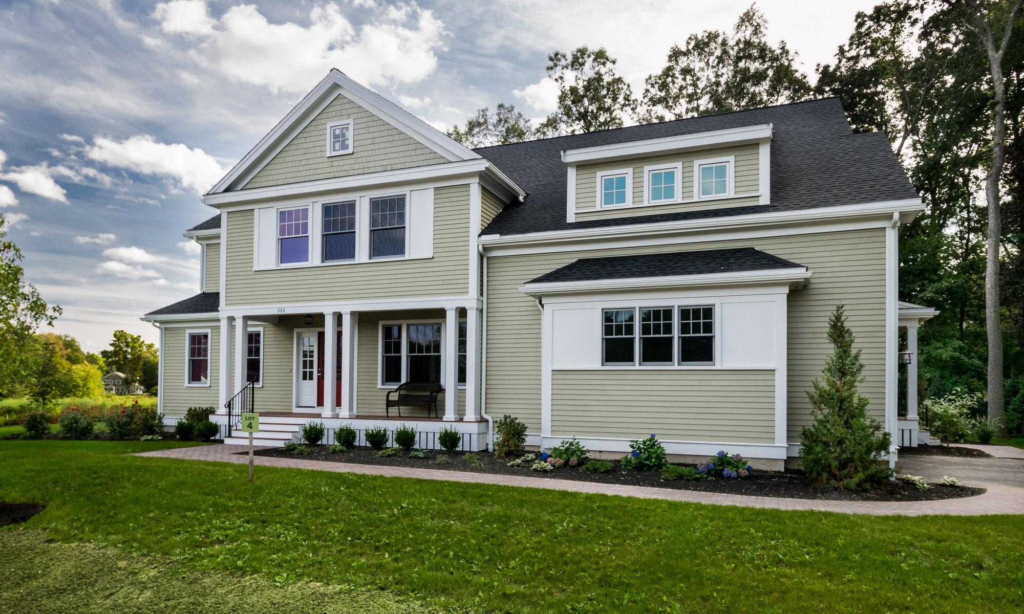 Maison unifamiliale pour l Vente à Newest Neighborhood Subdivision Lot 4 Monsen Road Concord, Massachusetts 01742 États-Unis