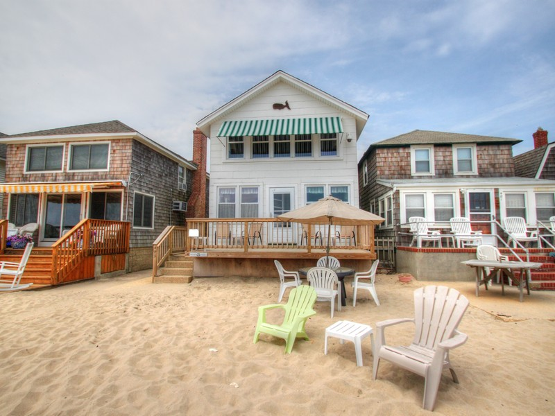 Single Family Home for Sale at Beachfront Property 403 Beachfront Manasquan, New Jersey 08736 United States