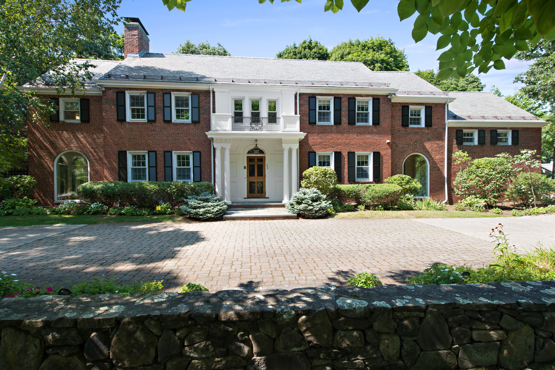 sales property at Stately And Well Maintained Georgian Colonial