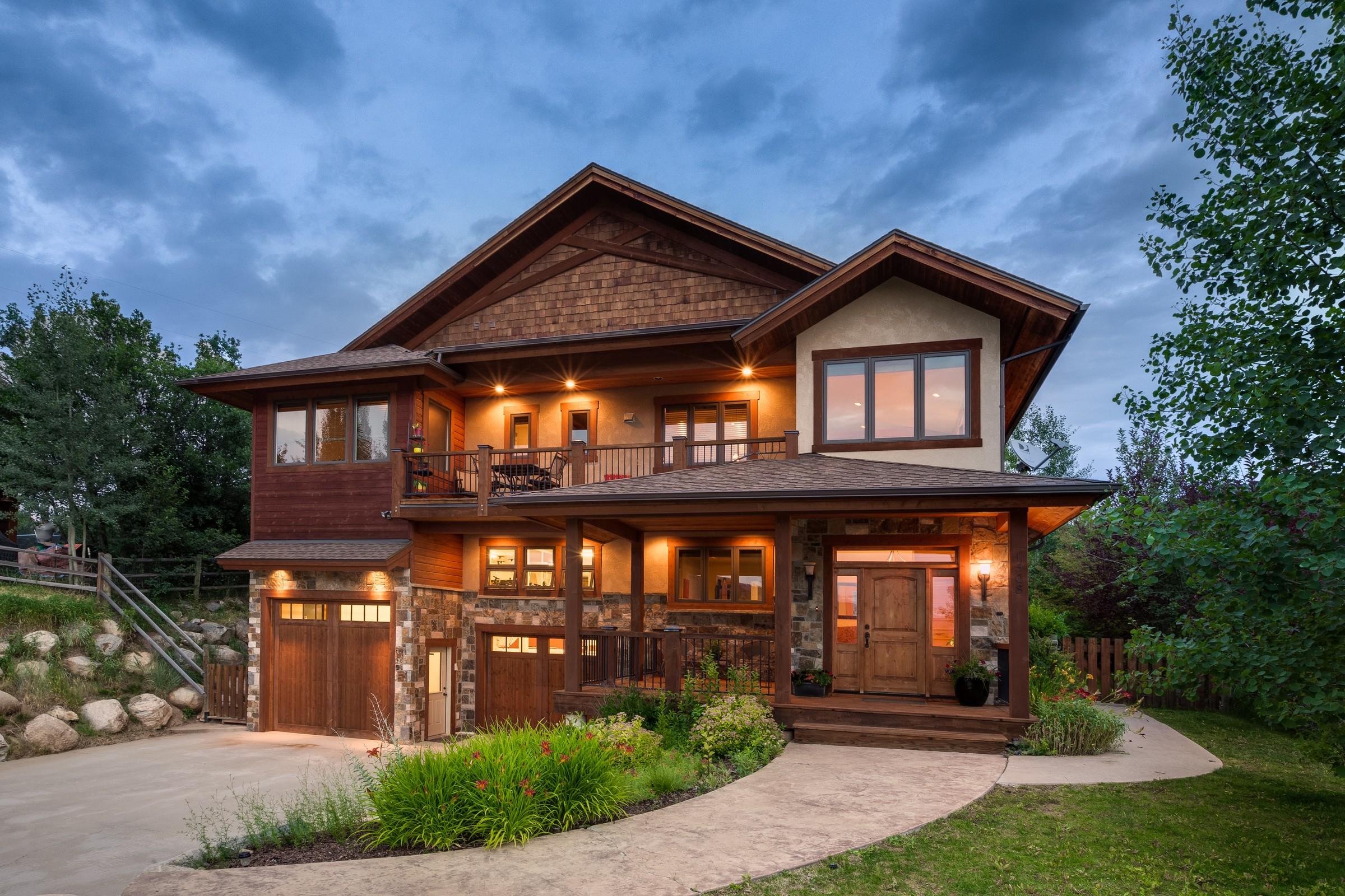 Maison unifamiliale pour l Vente à Custom Home on Harwig Circle 1508 Harwig Circle Steamboat Springs, Colorado, 80487 États-Unis