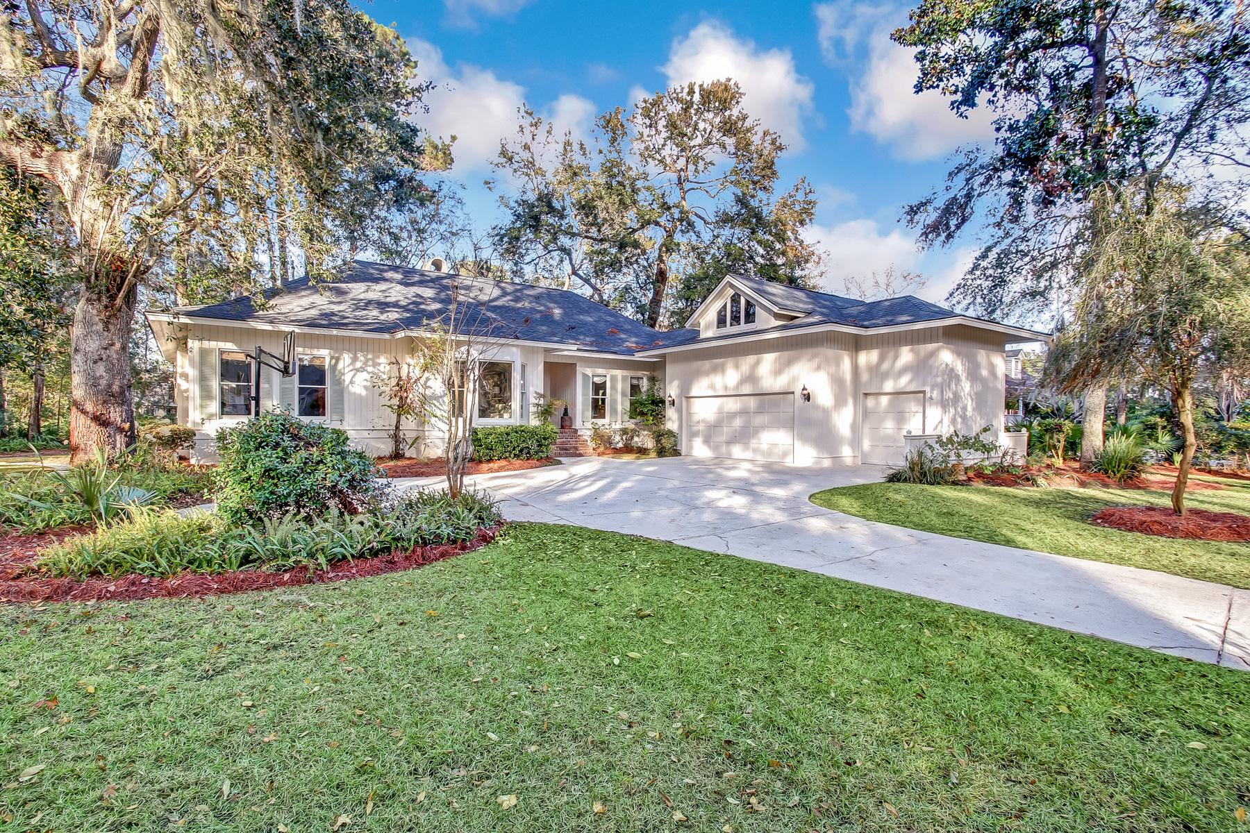 独户住宅 为 销售 在 8 Marsh Elder Lane Skidaway Island, 乔治亚州, 31411 美国
