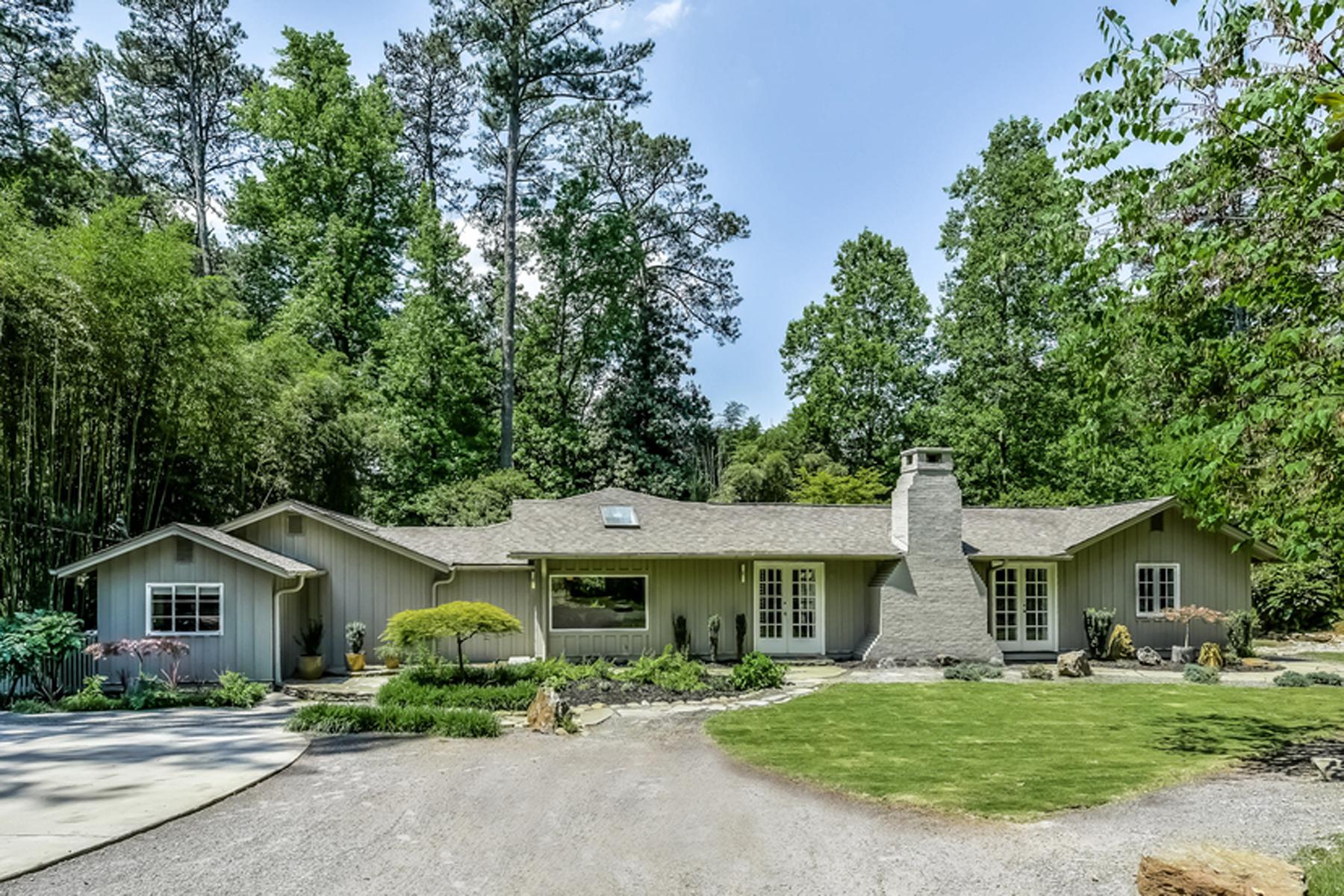 Nhà ở một gia đình vì Bán tại Sophisticated And Captivating Mid-Century Modern 3196 Rilman Road Buckhead, Atlanta, Georgia 30327 Hoa Kỳ