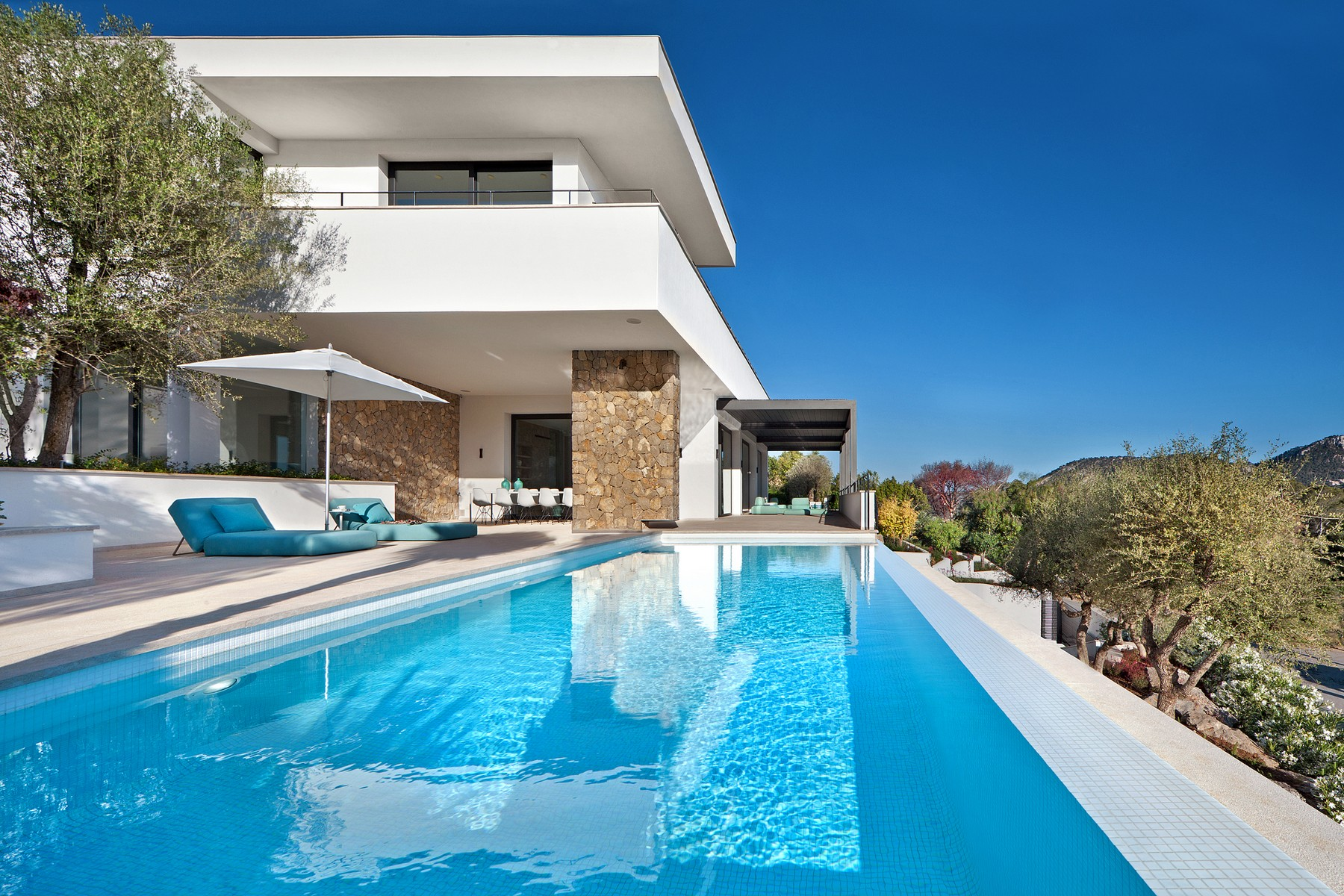 Casa Unifamiliar por un Venta en Elegant villa with fantastic views in Monport Port Andratx, Mallorca 07157 España