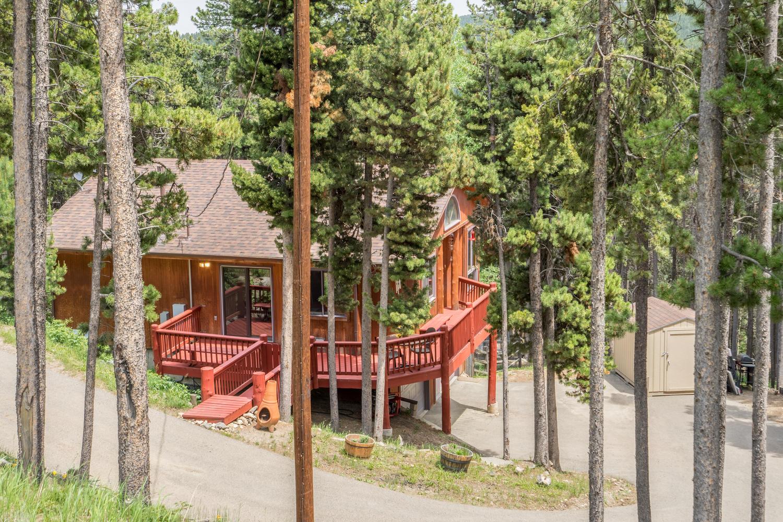 一戸建て のために 売買 アット True Mountain Living! 1111 Lodgepole Drive Evergreen, コロラド, 80439 アメリカ合衆国
