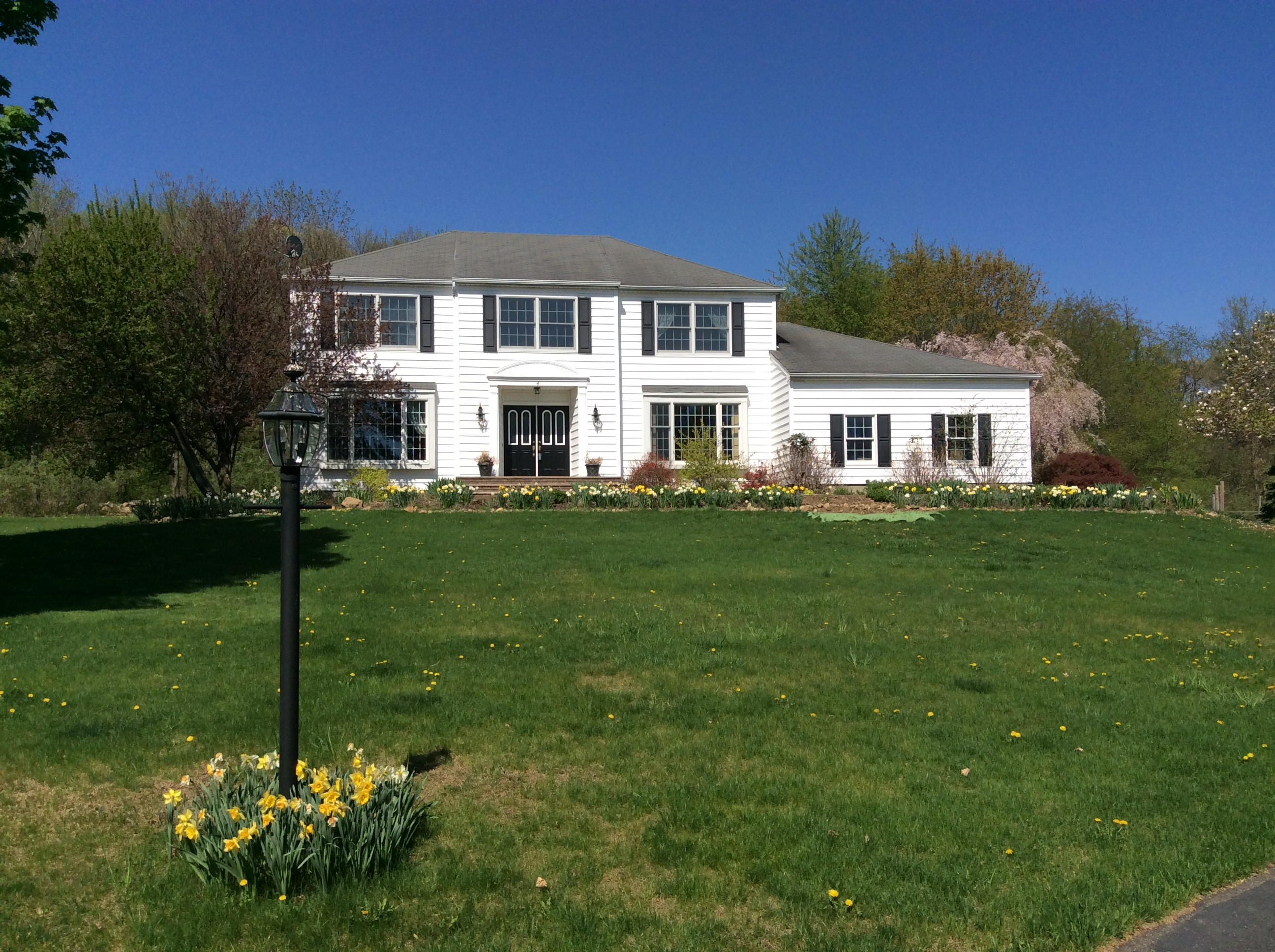 sales property at Spacious Center Hall Colonial