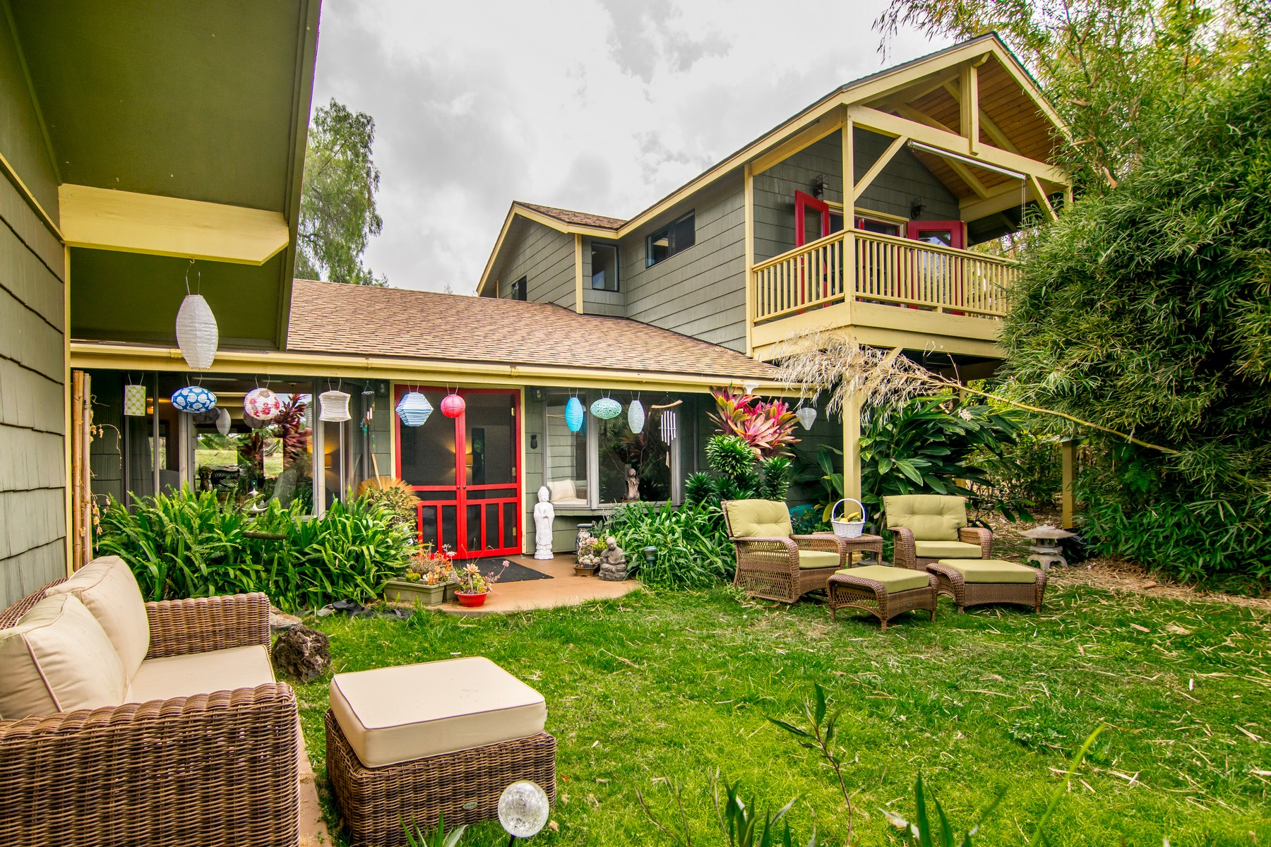 sales property at House and Cottage in Coveted Kula Glen Neighborhood of Kula, Maui