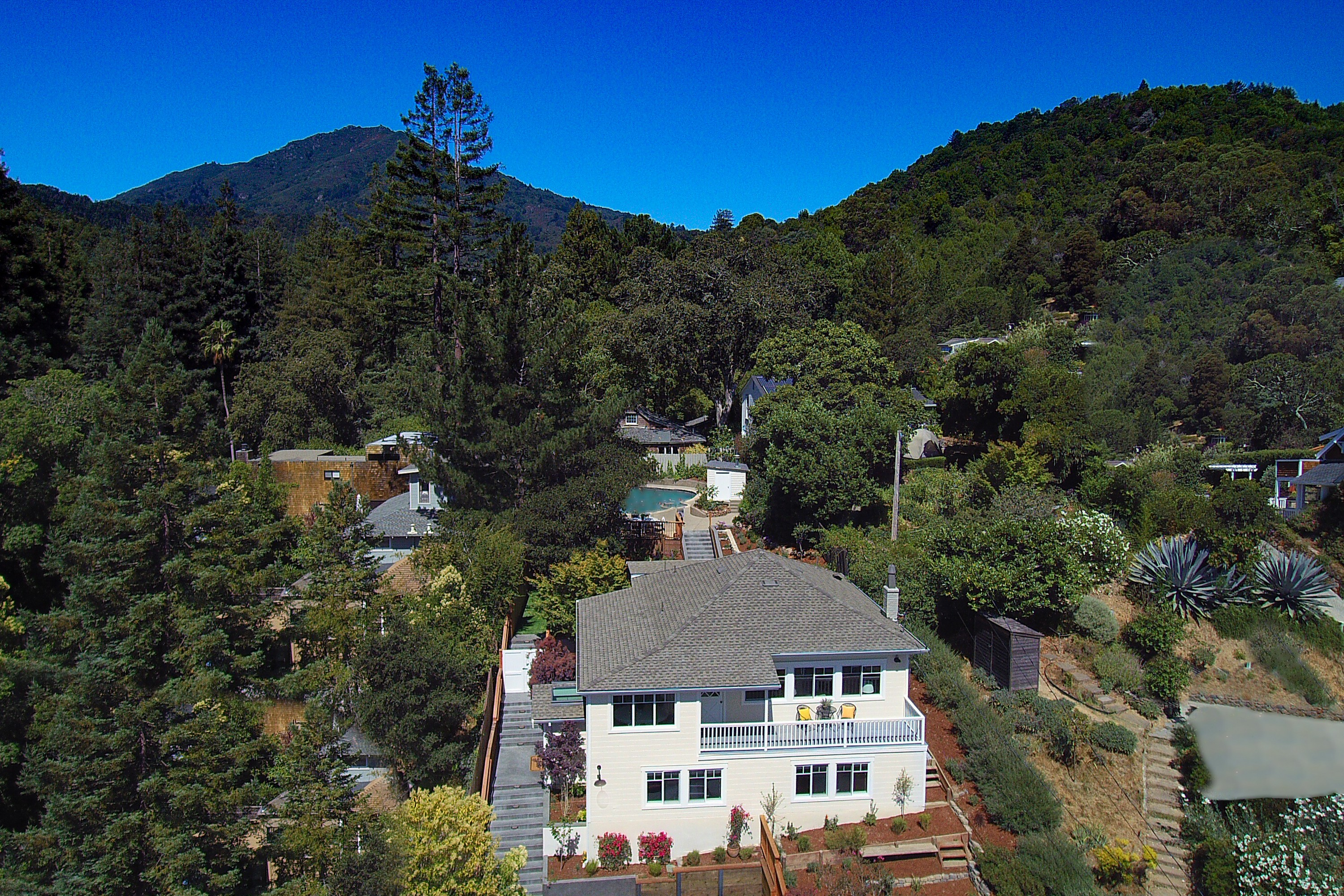 Single Family Home for Sale at Luxury, Lifestyle and Location in Larkspur's Madrone Canyon 15 Orange Avenue Larkspur, California, 94939 United States