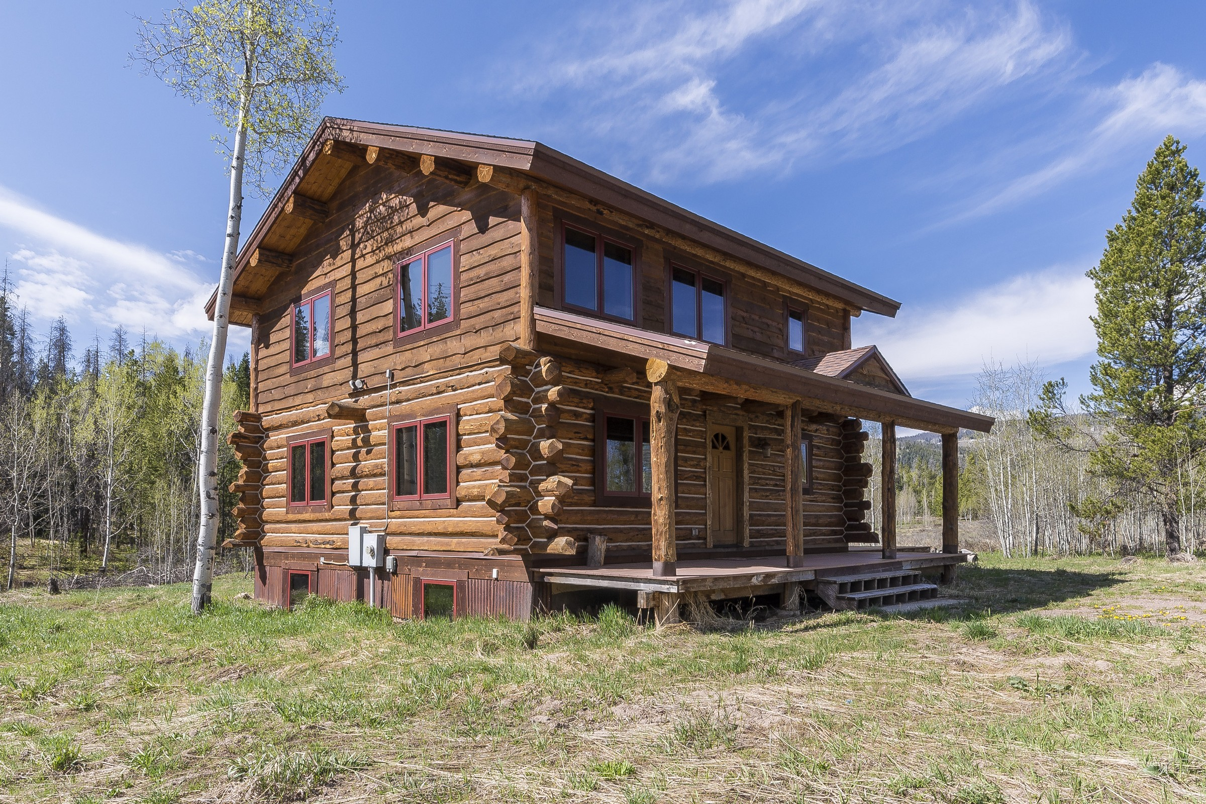 Casa Unifamiliar por un Venta en Stagecoach Log Cabin Oak Creek, Colorado, 80467 Estados Unidos