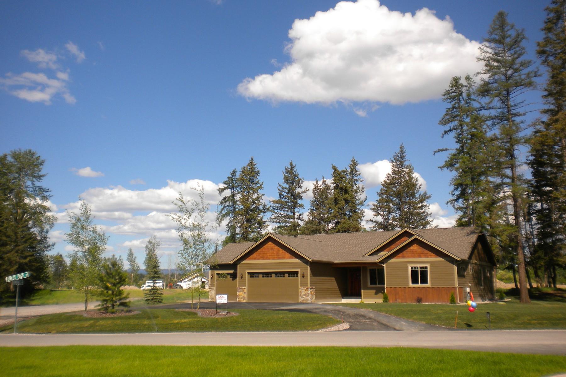 一戸建て のために 売買 アット Glacier Ranch 115 Rain Dance Trail Kalispell, モンタナ 59901 アメリカ合衆国
