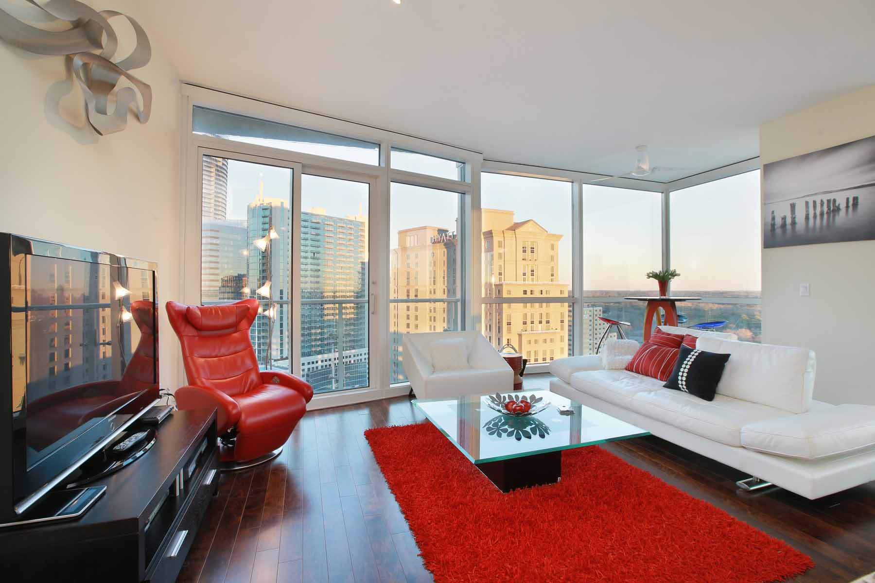 Property For Sale at Rarely available corner one-bedroom unit at desirable Terminus in Buckhead