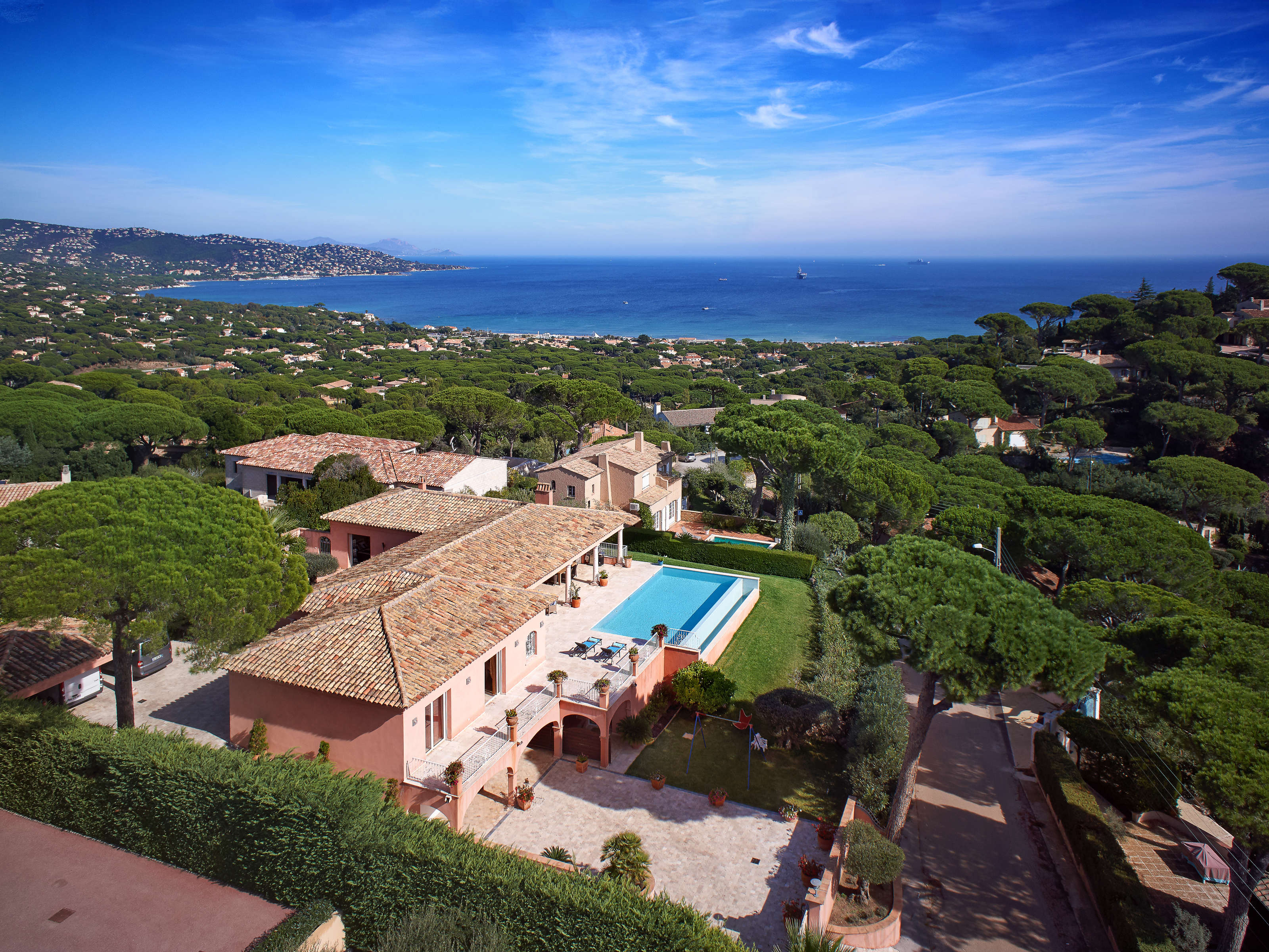 Single Family Home for Sale at Luxurious property with sea view over the bay of St. Tropez Sainte Maxime Sainte Maxime, Provence-Alpes-Cote D'Azur 83120 France