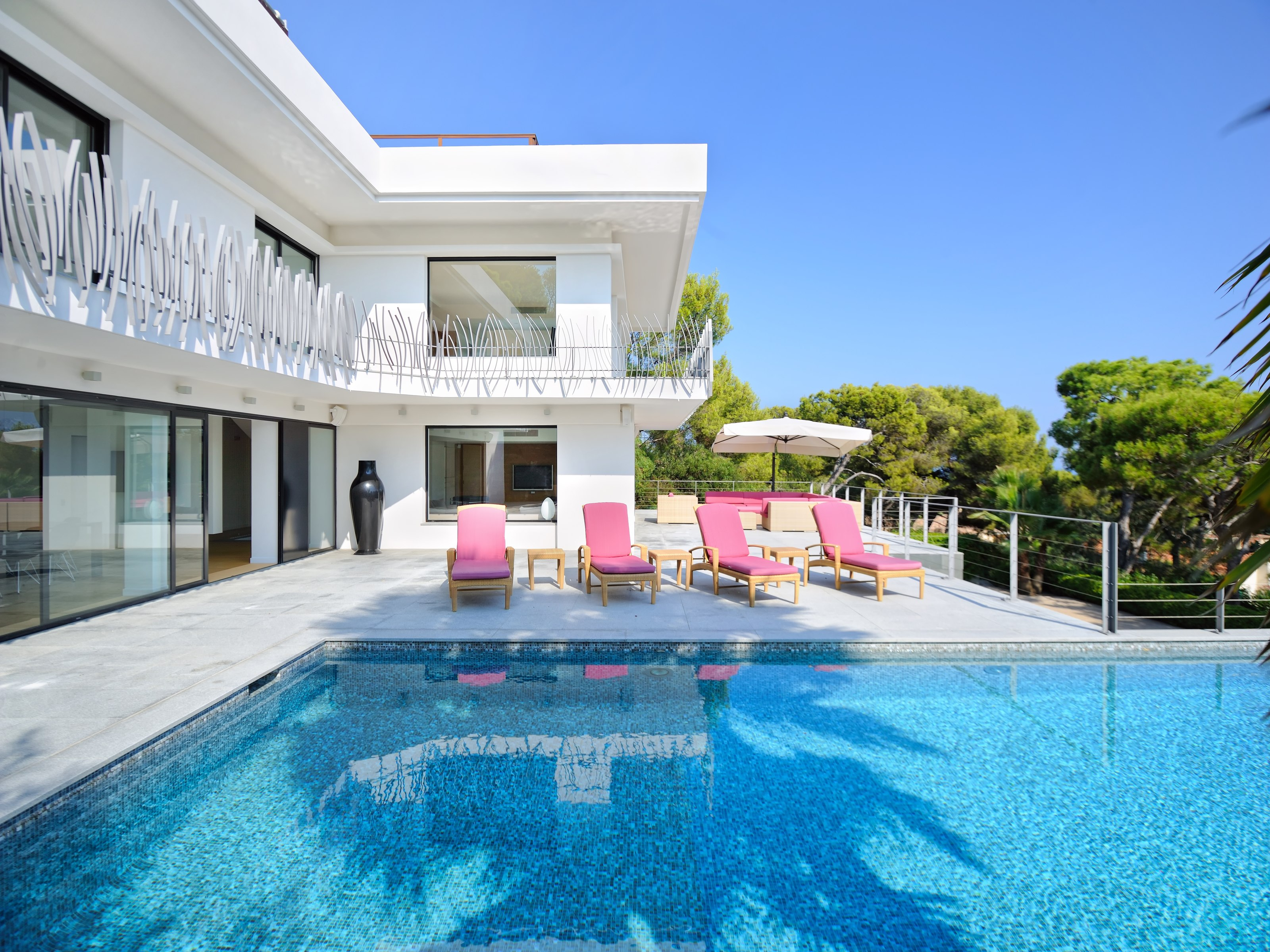 Single Family Home for Sale at Sole Agent - Superb Contemporary Villa with panora Saint Jean Cap Ferrat, Provence-Alpes-Cote D'Azur 06230 France