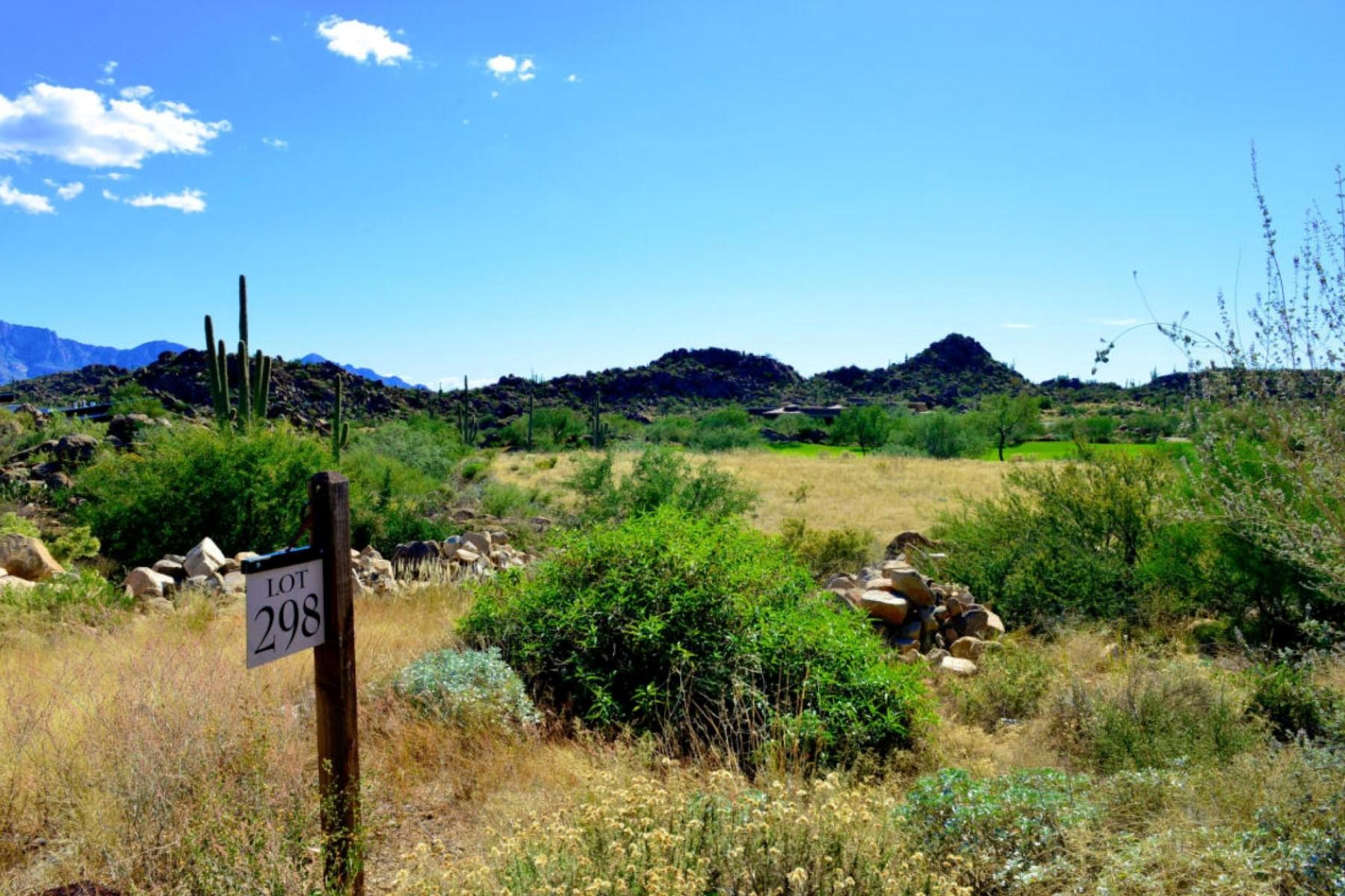 Terreno por un Venta en Stunning Panoramic Views Of 7th Fairway Of Phil Mickelson's Stone Canyon Club 1460 W Tortolita Mountain Circle #298 Oro Valley, Arizona 85755 Estados Unidos