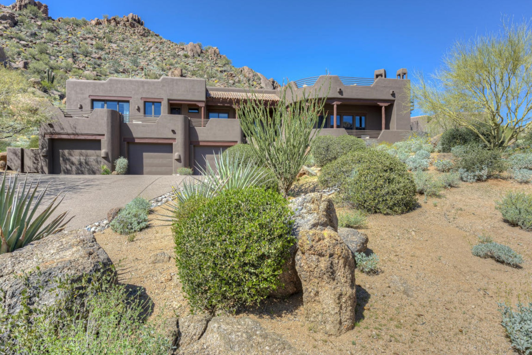 Single Family Home for Sale at Perfection found in Troon Ridge at the base of Troon Mountain 24372 N 113TH PL Scottsdale, Arizona 85255 United States