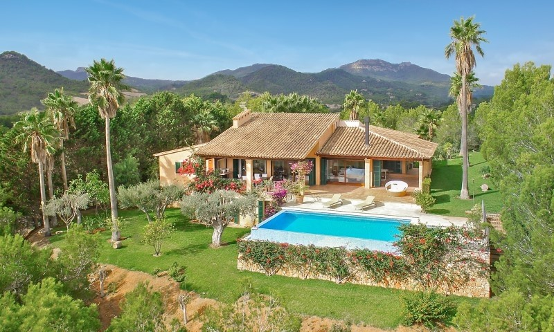 Single Family Home for Sale at Villa with panoramic sea views in Porto Colom Porto Colom, Mallorca, 07670 Spain